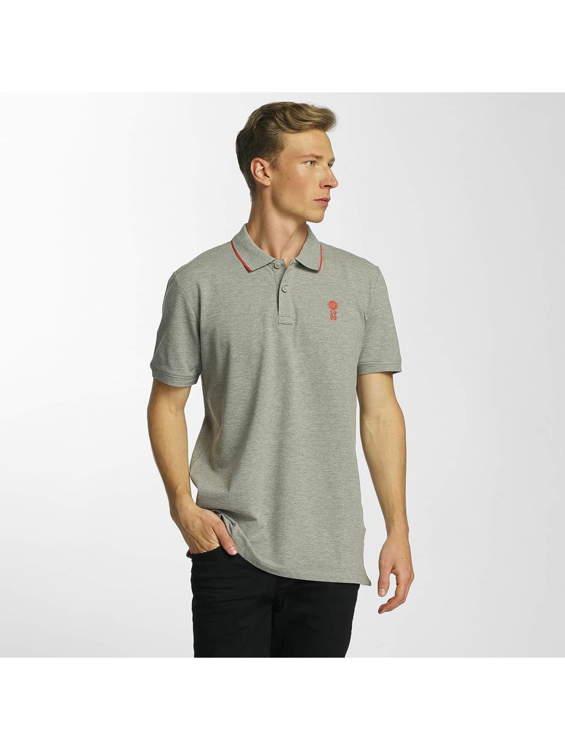 Jack & Jones Männer Poloshirt jcoStone in grau