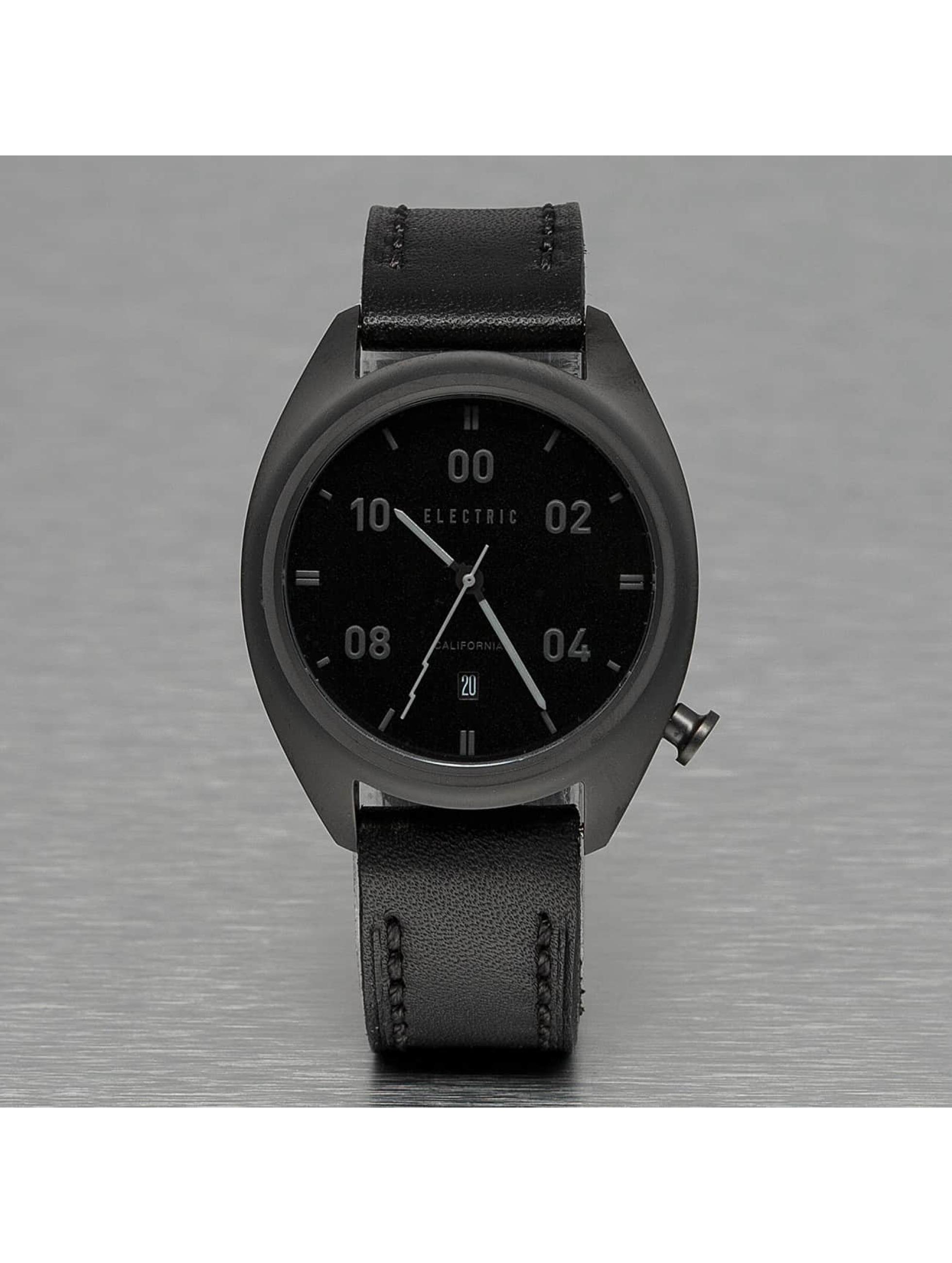 Electric Männer,Frauen Uhr OW01 Leather in schwarz