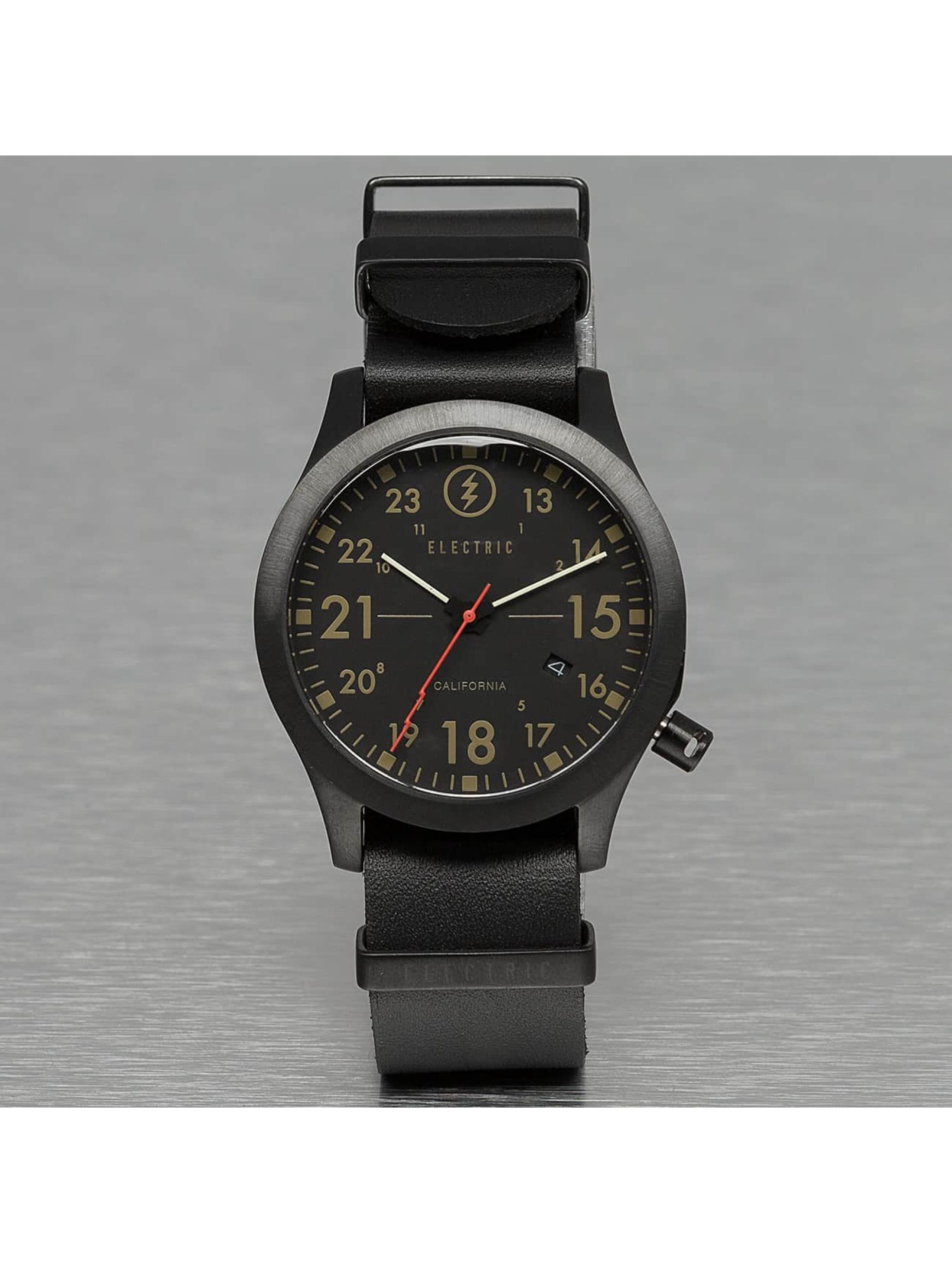 Electric Männer,Frauen Uhr FW01 Leather in schwarz