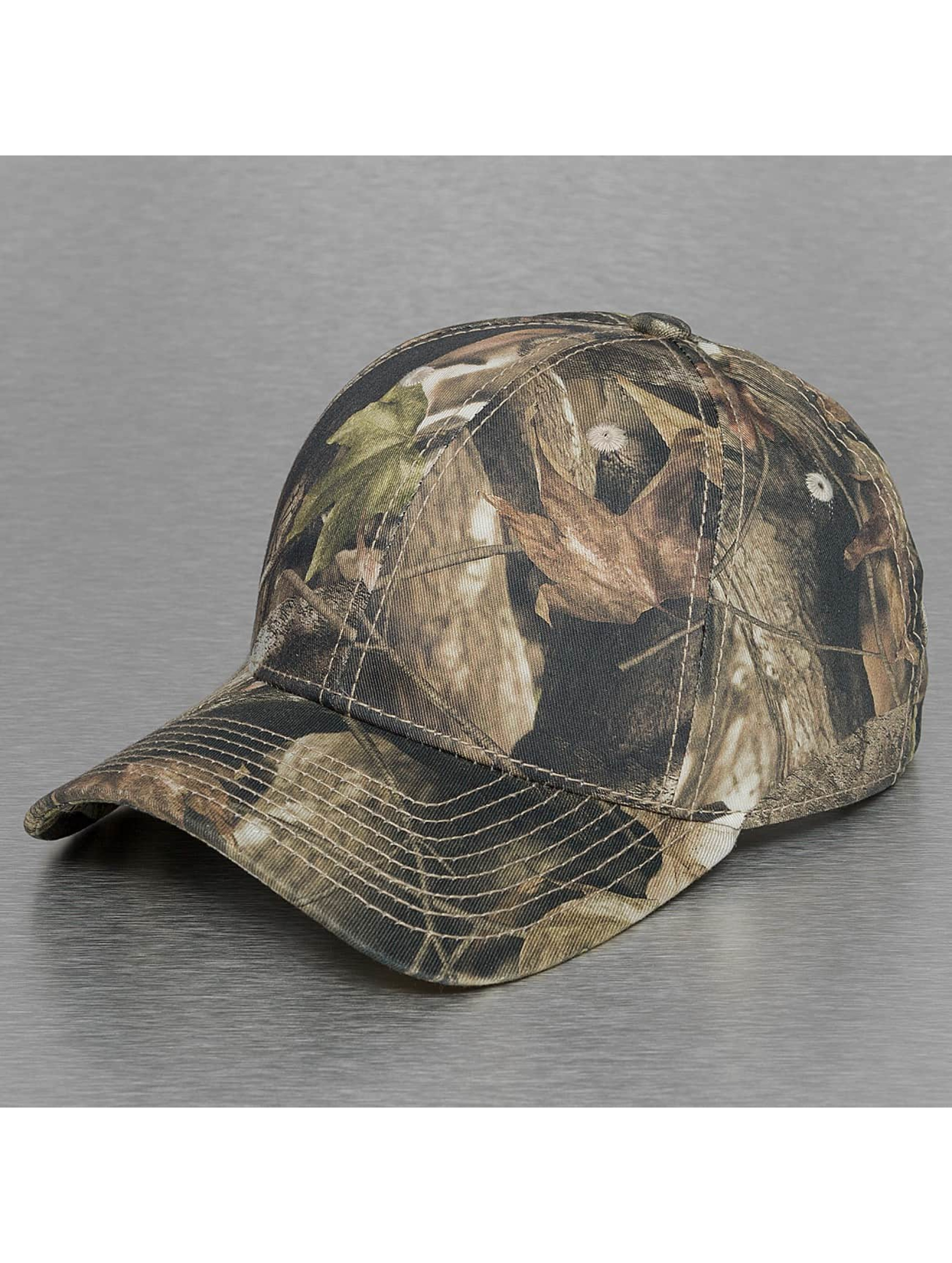 Decky USA Männer,Frauen Snapback Cap Low Crow Structured Hybricam in camouflage