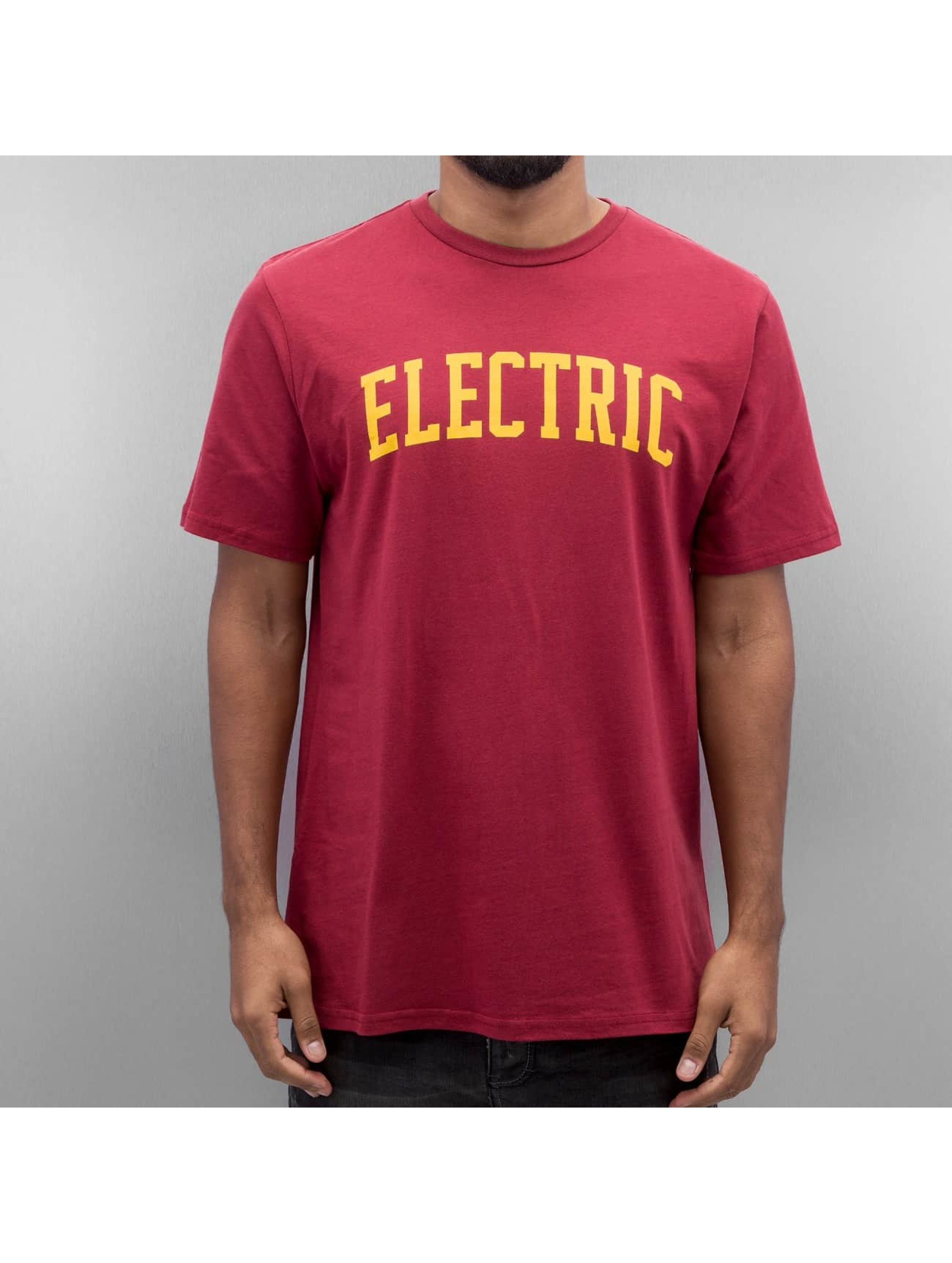 Electric Männer T-Shirt COLLEGE in rot
