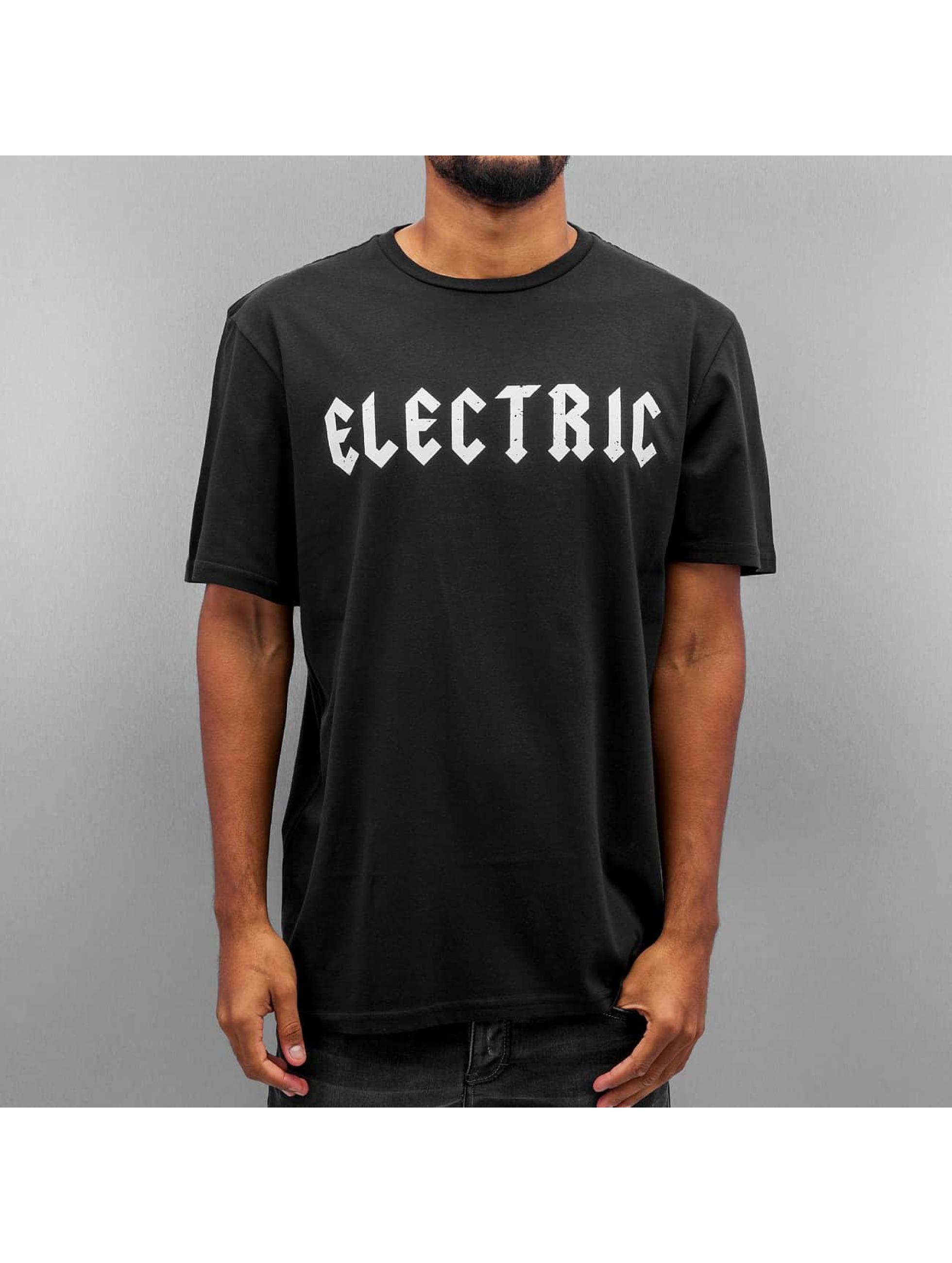 Electric Männer Tall Tees HESSIAN in schwarz