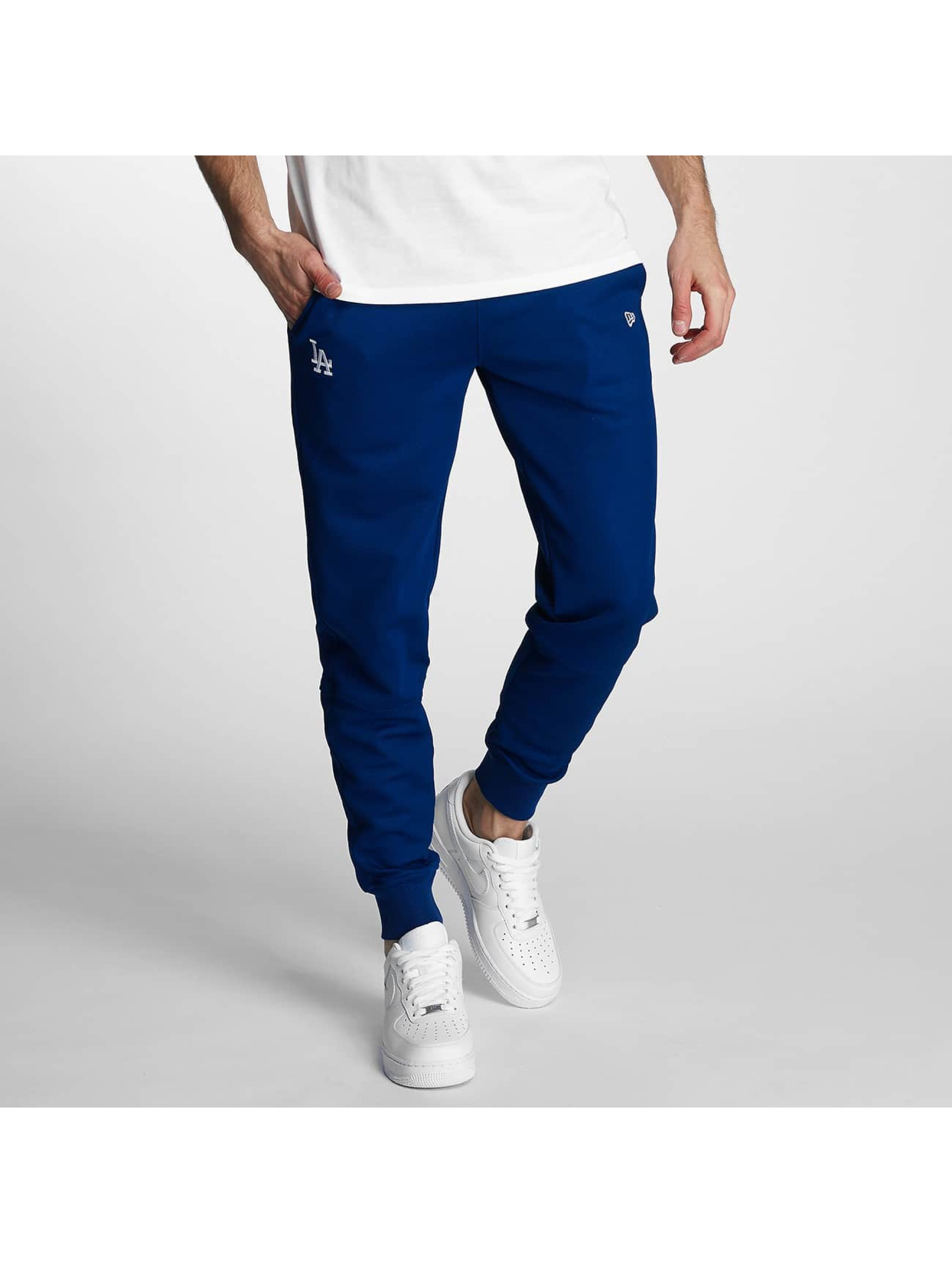 New Era Männer Jogginghose Border Edge II LA Dodgers in blau