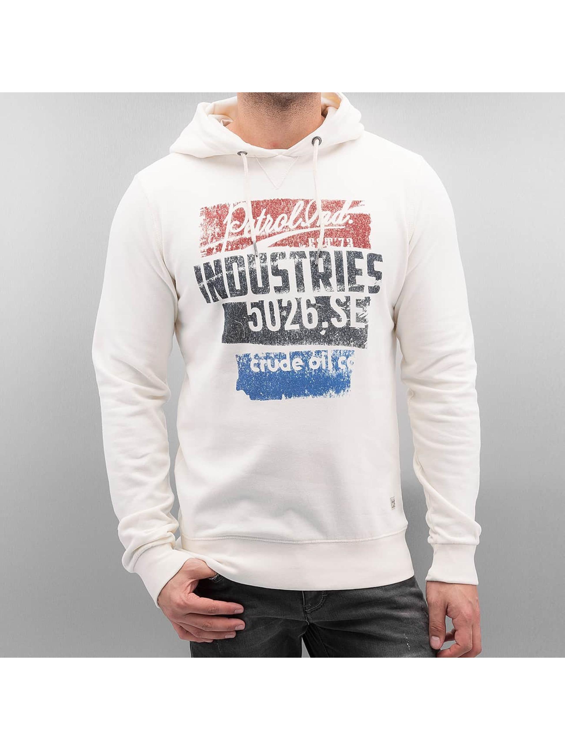 Petrol Industries Männer Hoody Baltimore in weiß