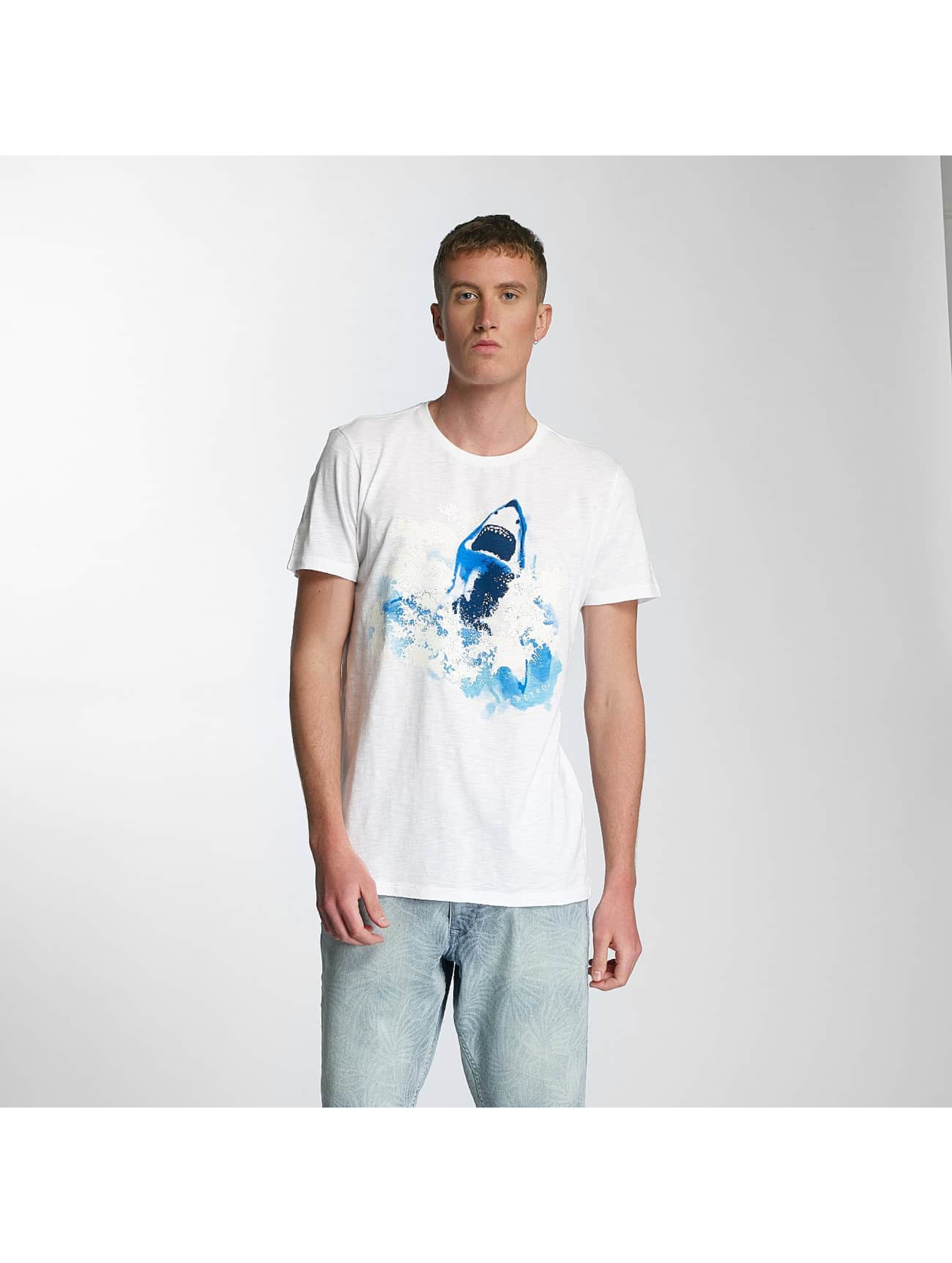 Schipkau Angebote Petrol Industries Männer T-Shirt Shark in weiß