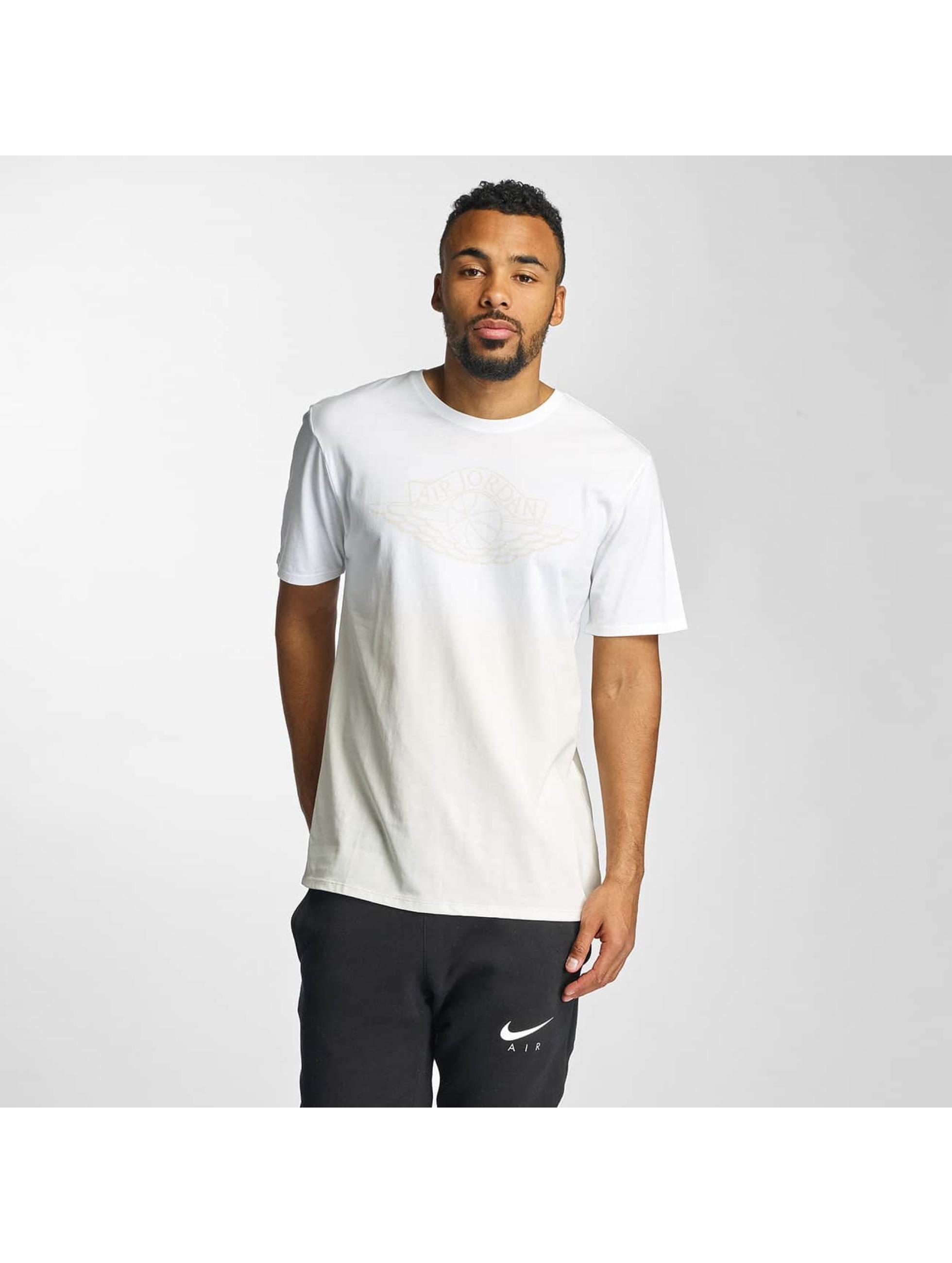 Jordan Männer T-Shirt Fadeaway Faded in weiß
