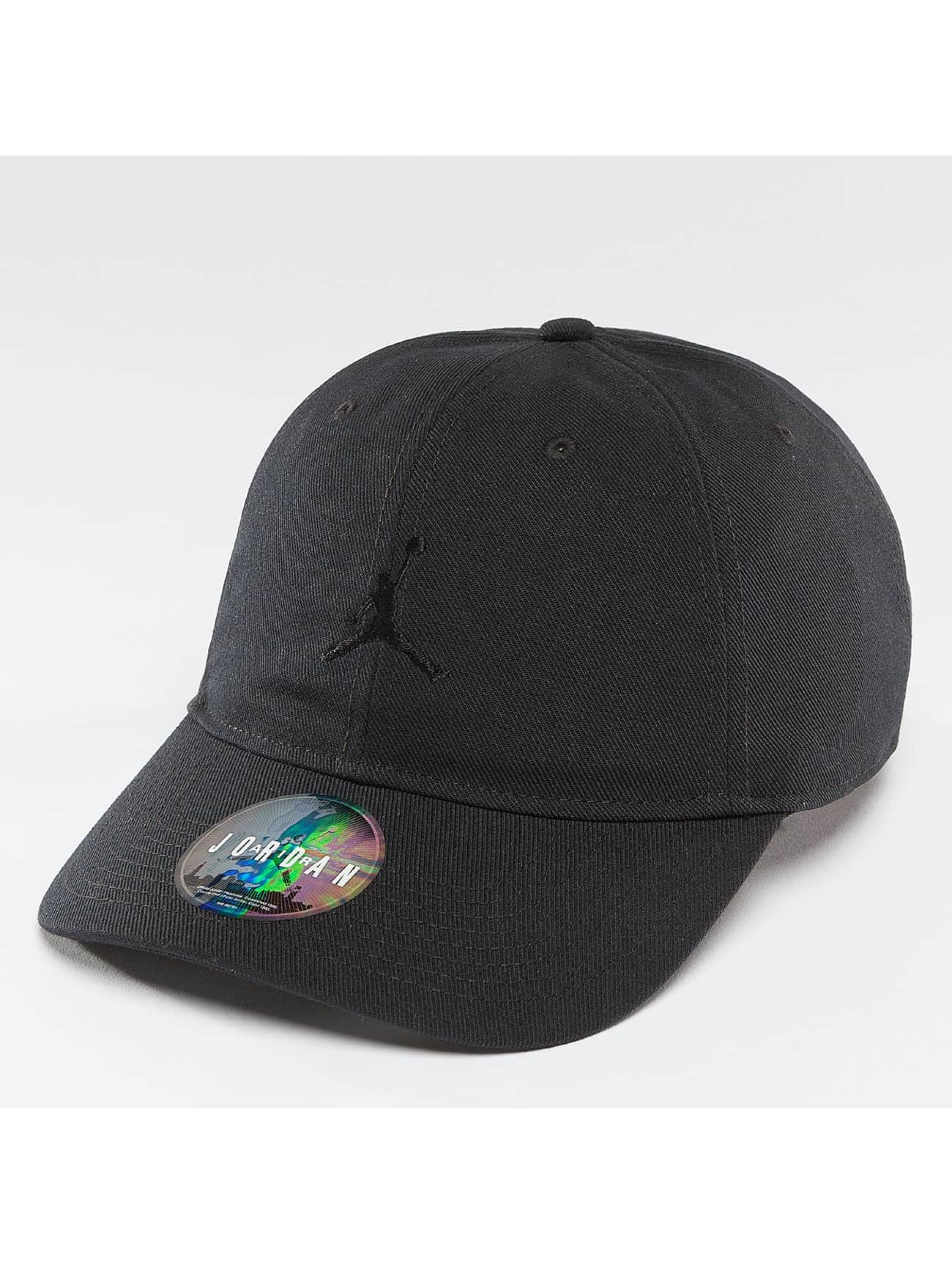 Jordan Männer Snapback Cap Jumpman Floppy H86 in schwarz