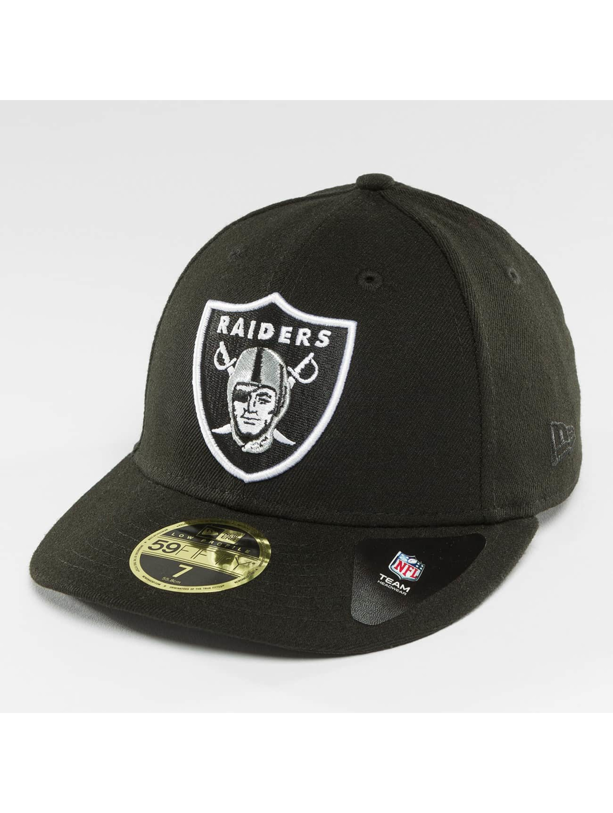New Era Männer,Frauen Fitted Cap Team Classic Oakland Raiders 5*9Fitfy in schwarz