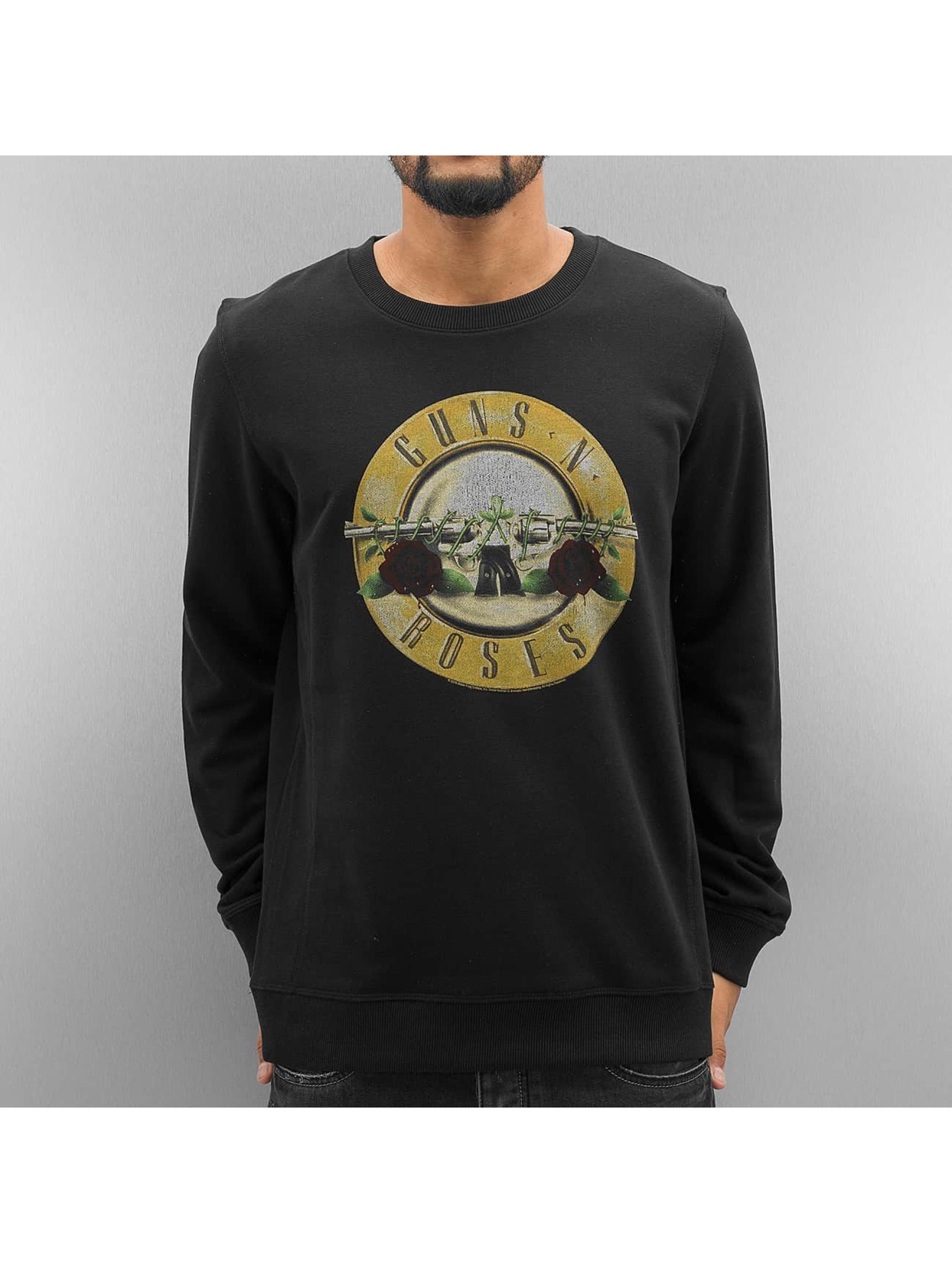 Amplified Männer Pullover Guns N Roses Drum in schwarz