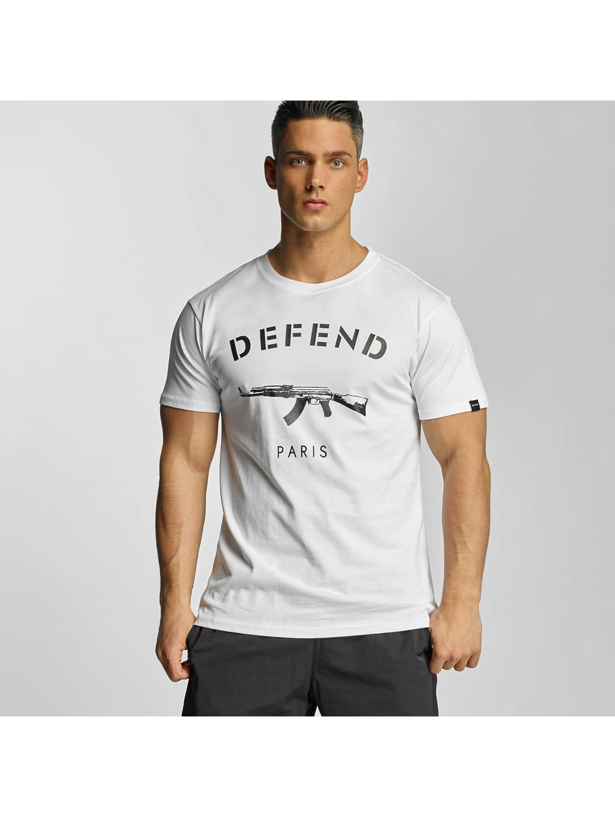 Defend Paris Männer T-Shirt Paris in weiß