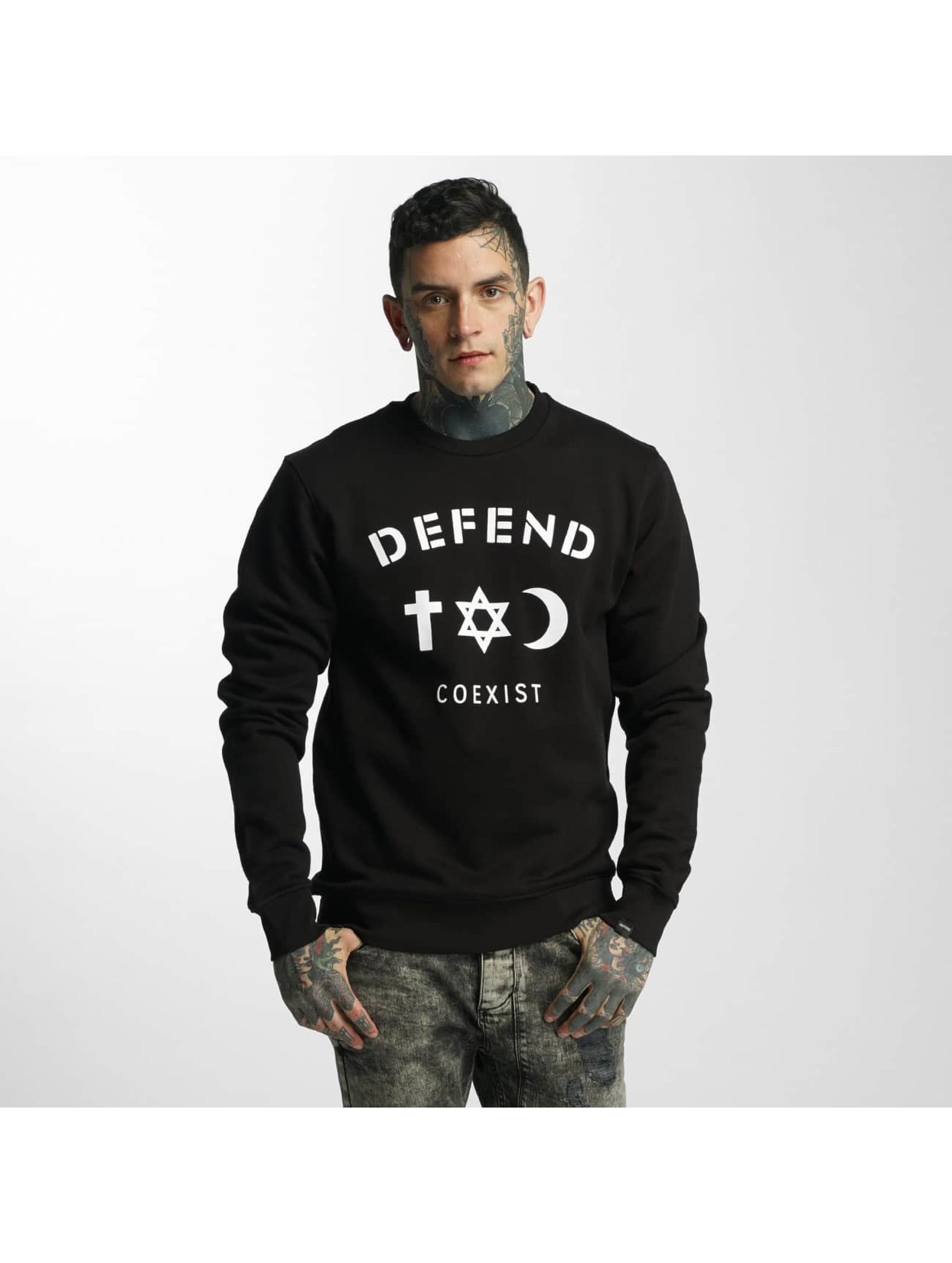 Defend Paris Männer Pullover CO in schwarz