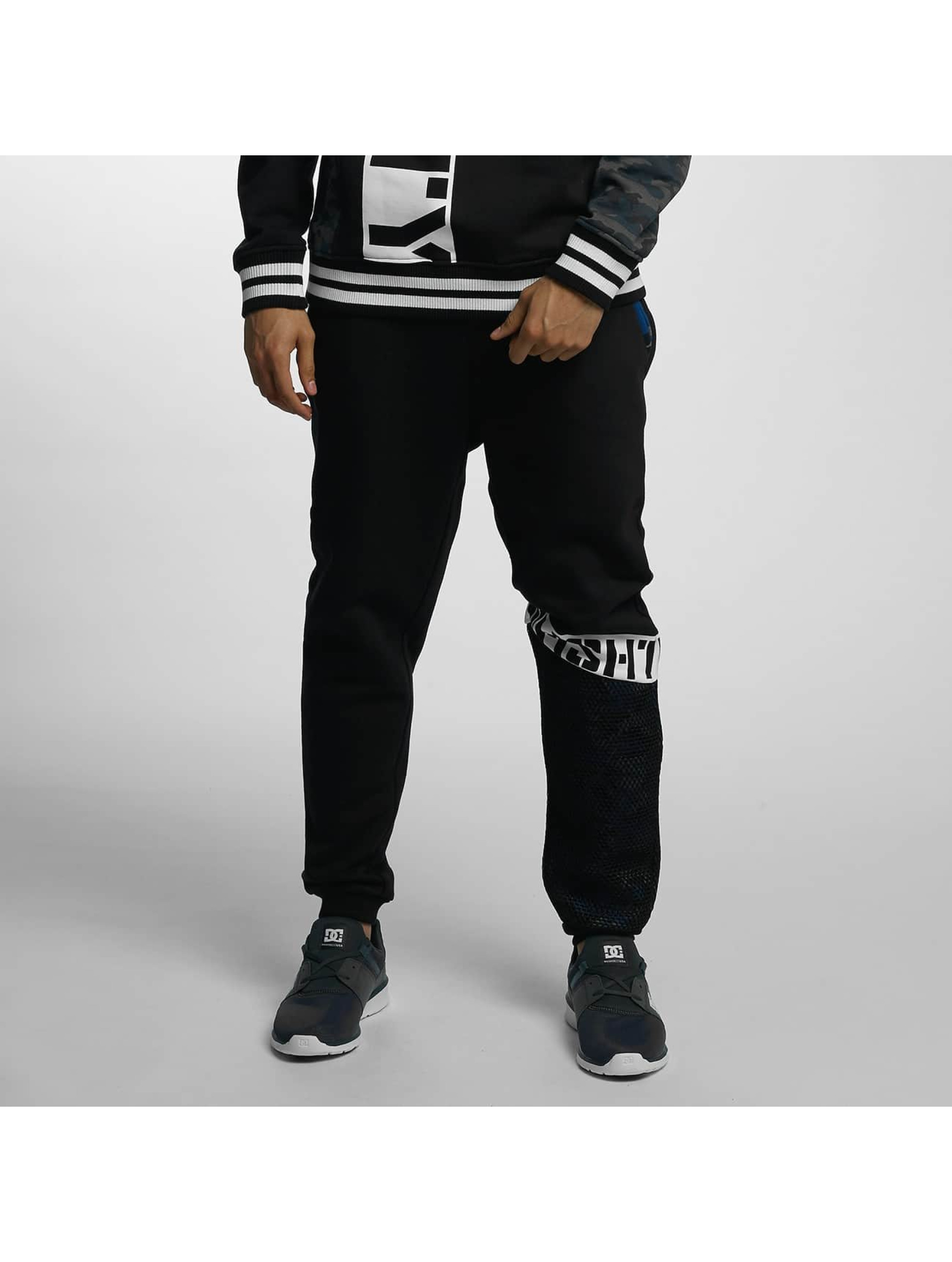Who Shot Ya? / Sweat Pant Bluecamou in black XL