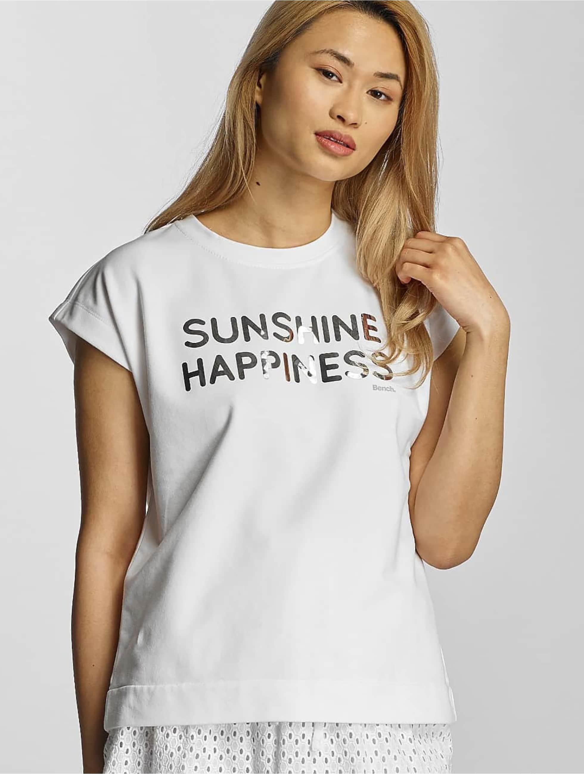 Bench Frauen T-Shirt Short Sleeve in weiß