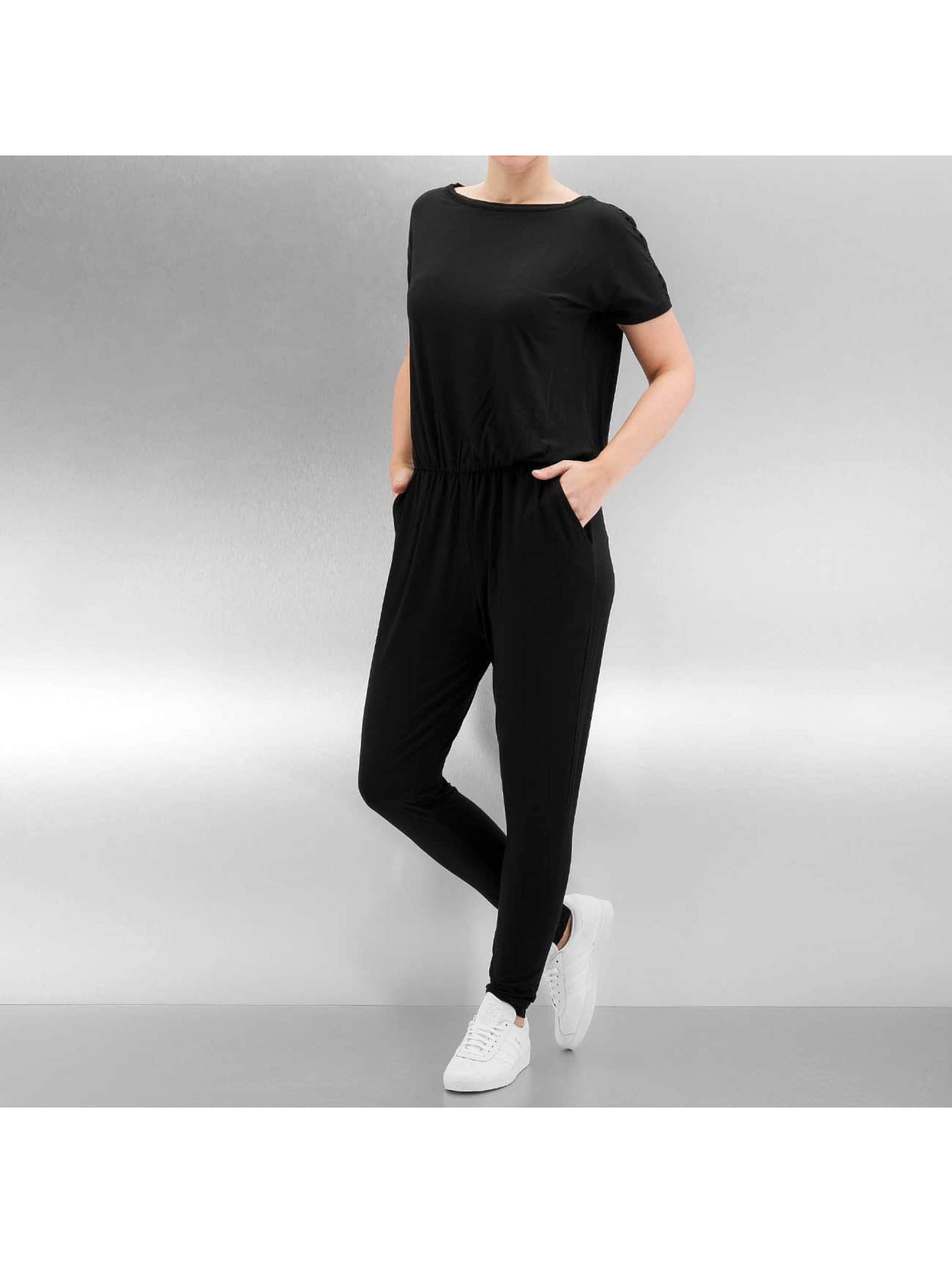 Bench Frauen Jumpsuit Grown On in schwarz