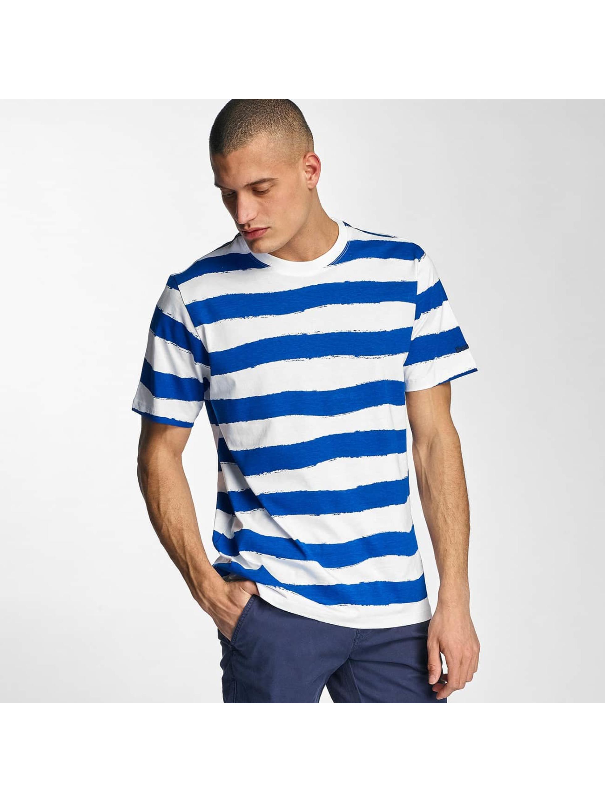 Bench Männer T-Shirt Handpainted Stripe in blau