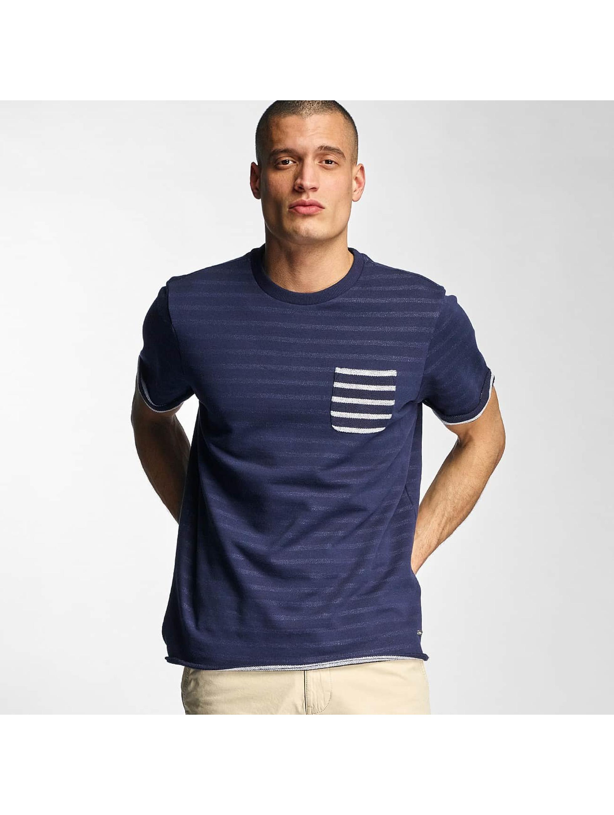 Bench Männer T-Shirt YD Stripe in blau