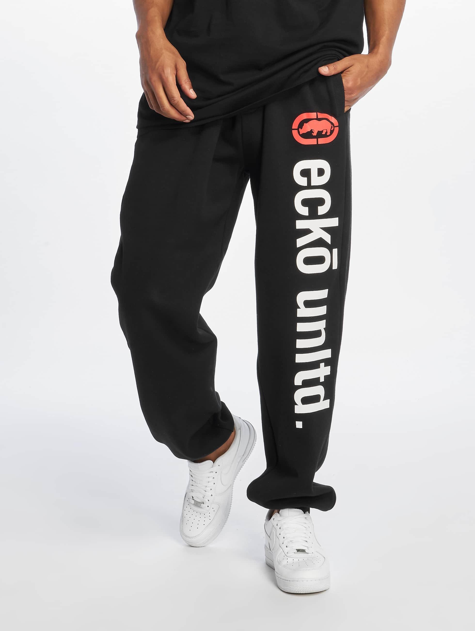 Ecko Unltd. Männer Jogginghose 2Face in schwarz