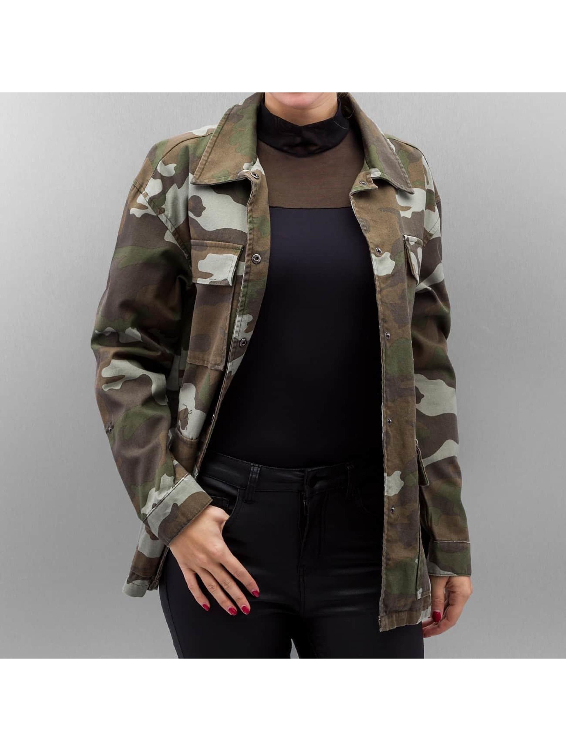 Vero Moda Frauen Übergangsjacke VmEmma in camouflage