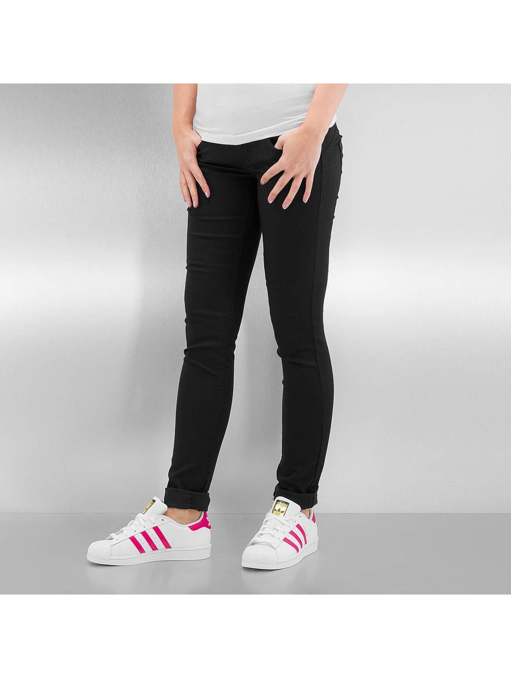 Only Frauen Skinny Jeans onlLucia in schwarz