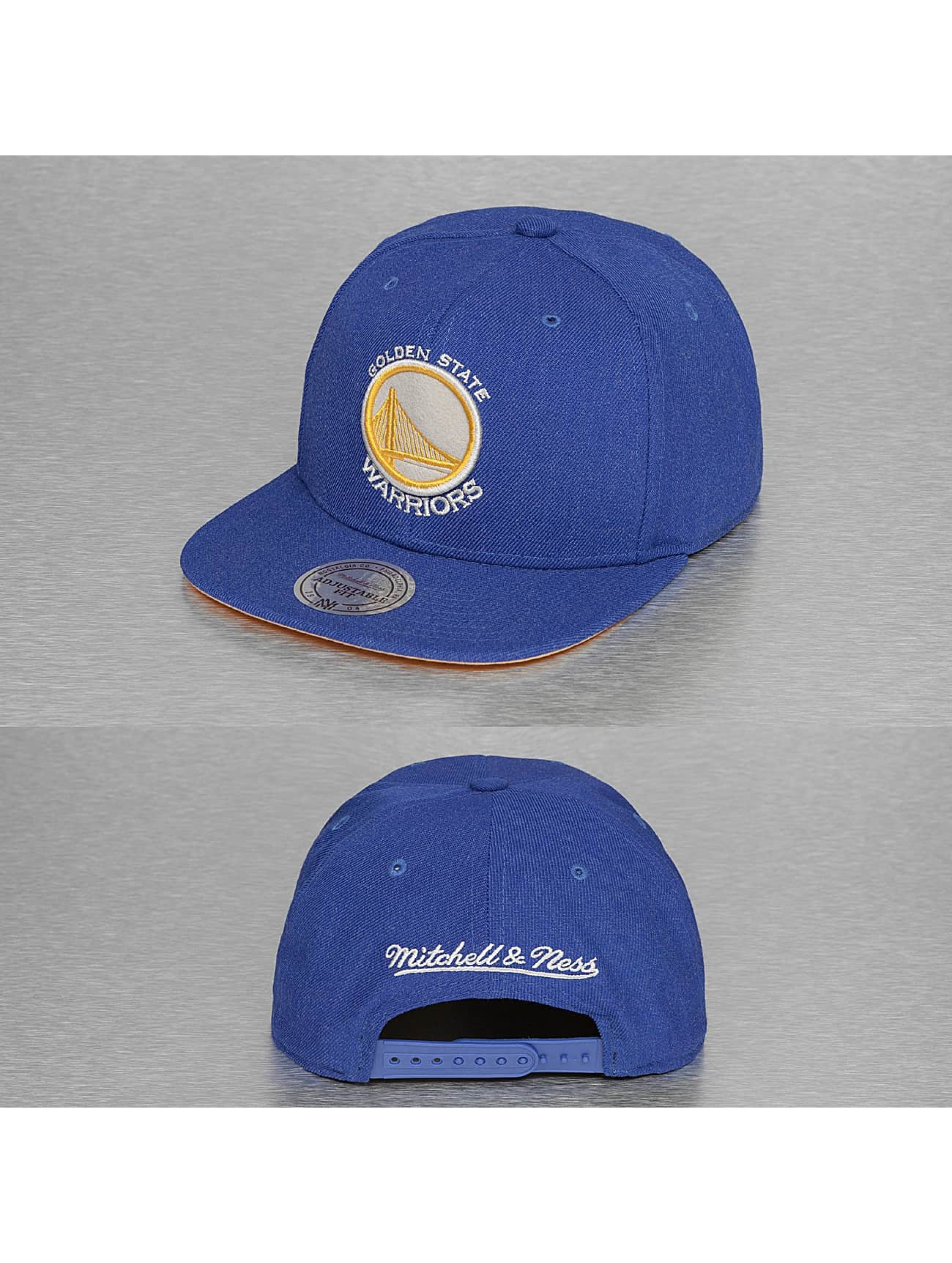 Mitchell & Ness Männer,Frauen Snapback Cap NBA Team Heather in blau