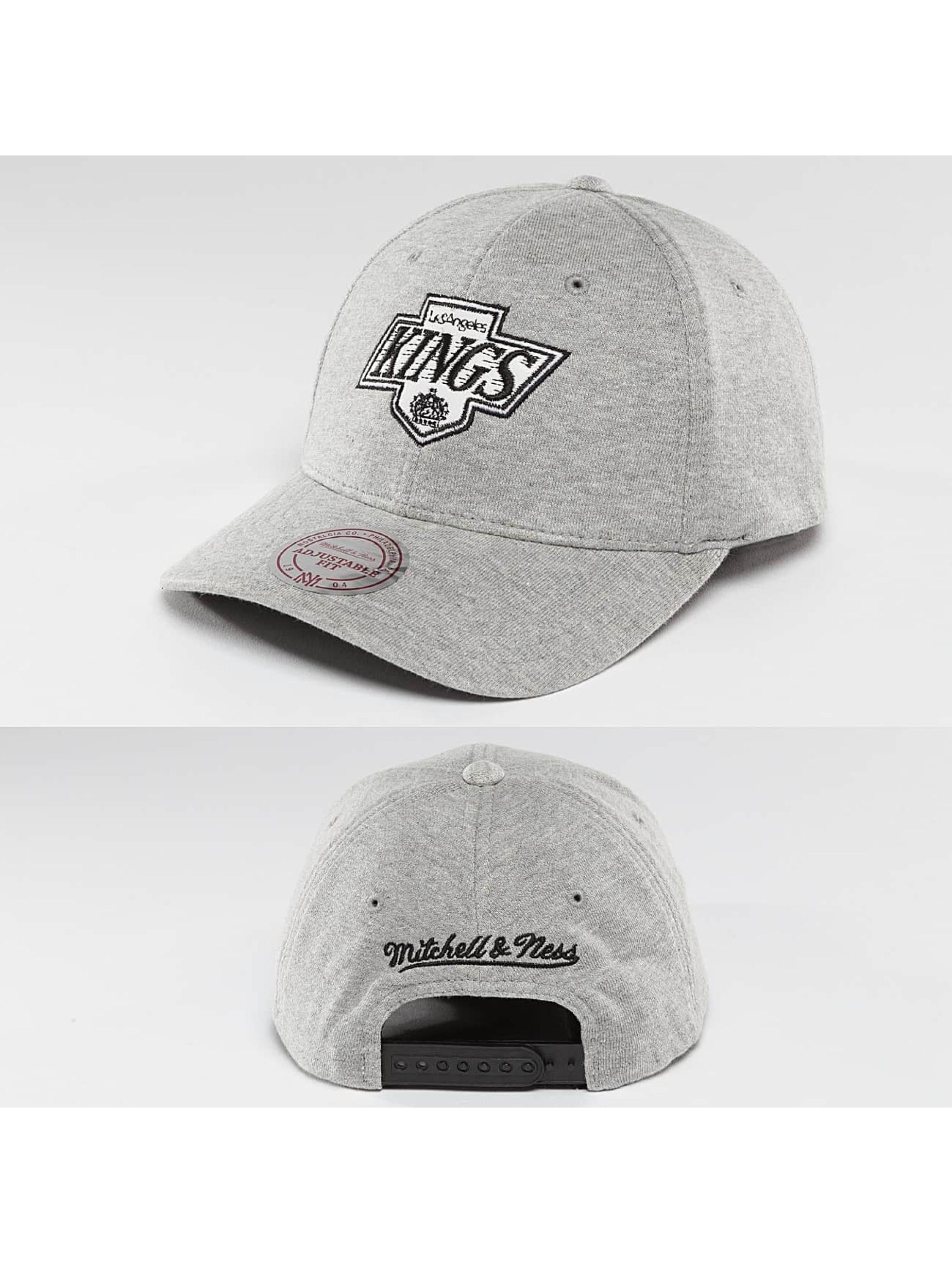 Mitchell & Ness Männer,Frauen Snapback Cap NHL Sweat LA Kings in grau