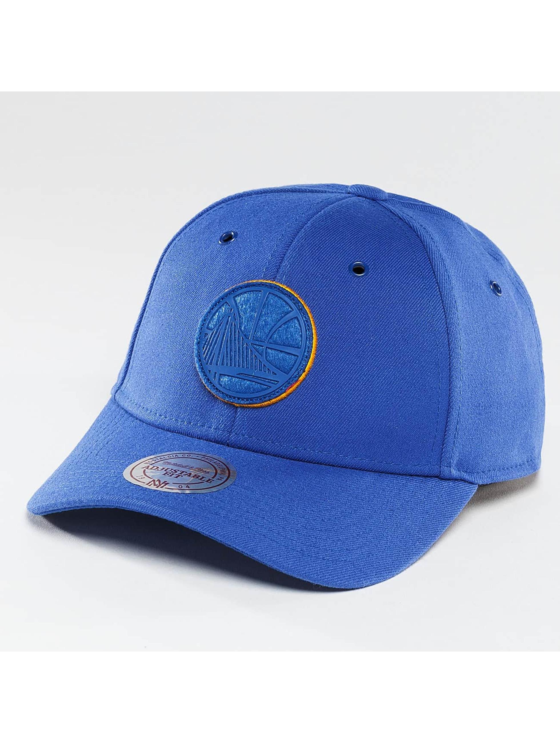 Mitchell & Ness Männer,Frauen Snapback Cap ilter 2.0 Golden State Warriors in blau