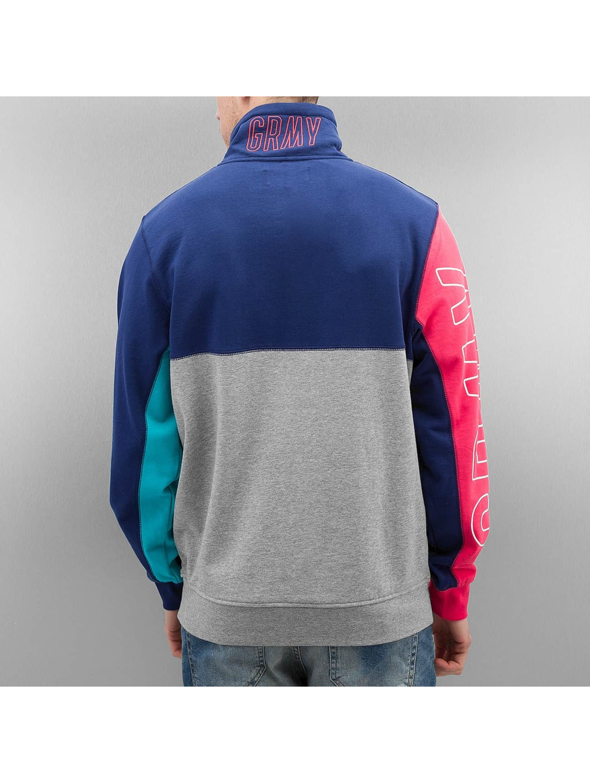 Grimey Wear Männer Pullover Rock Creek Park in blau