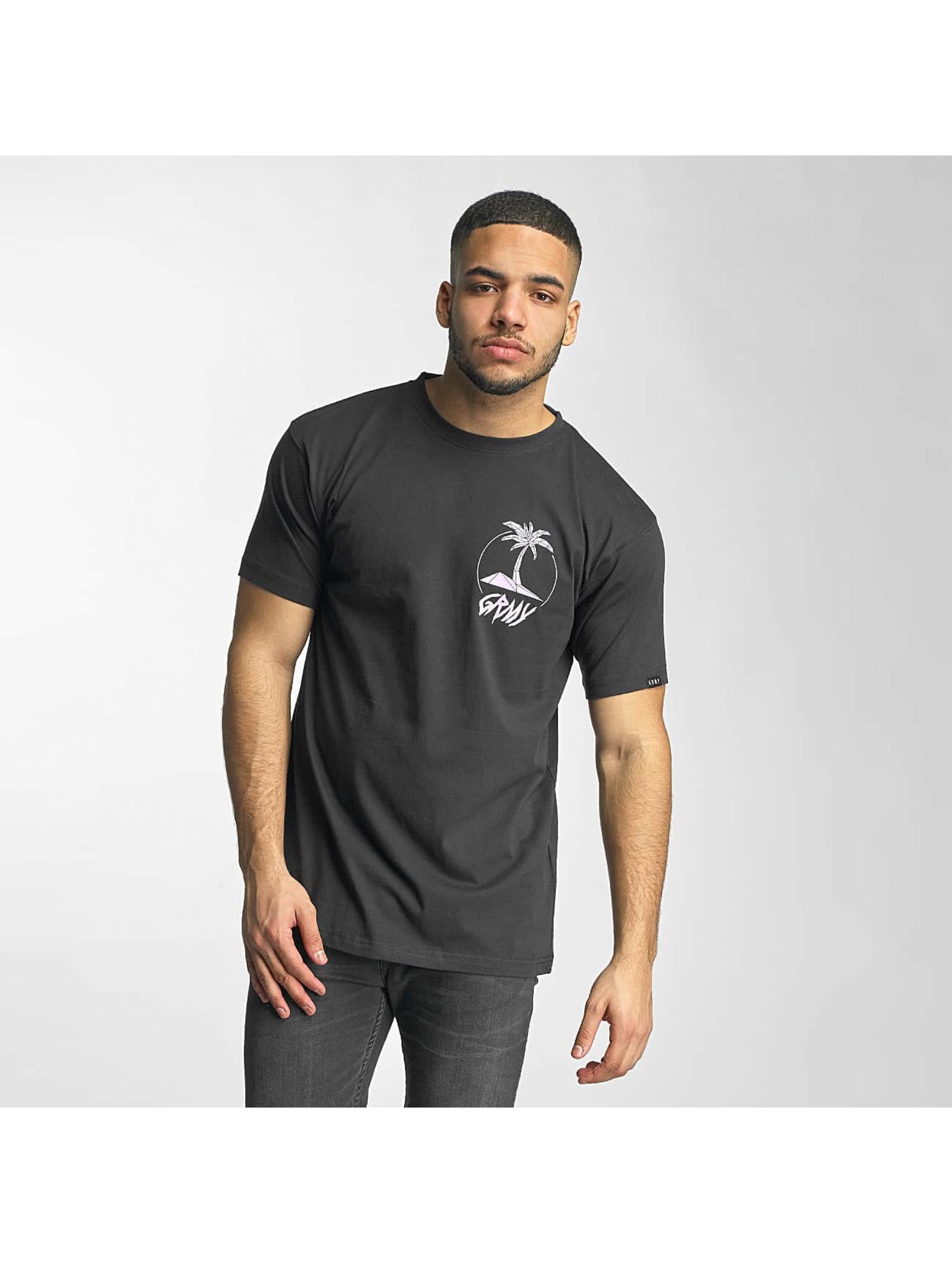 Grimey Wear Männer T-Shirt Pina Colada in schwarz