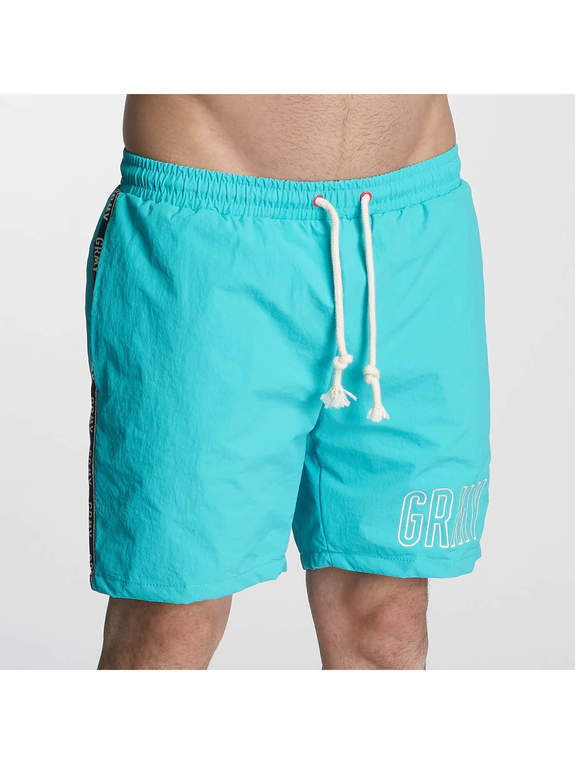 Grimey Wear Männer Badeshorts Rock Creek in blau