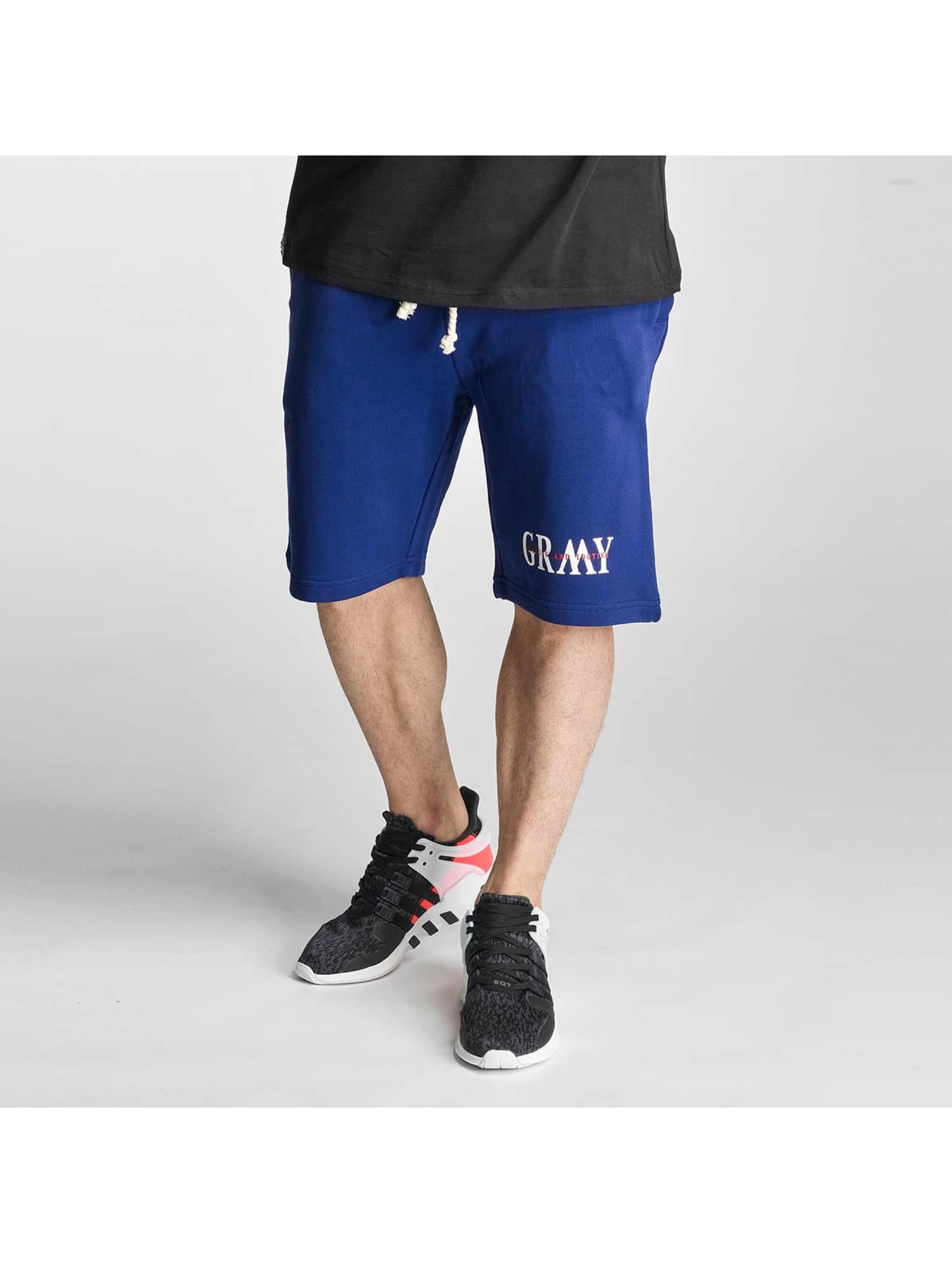 Grimey Wear Männer Shorts Mist Blues in blau - broschei