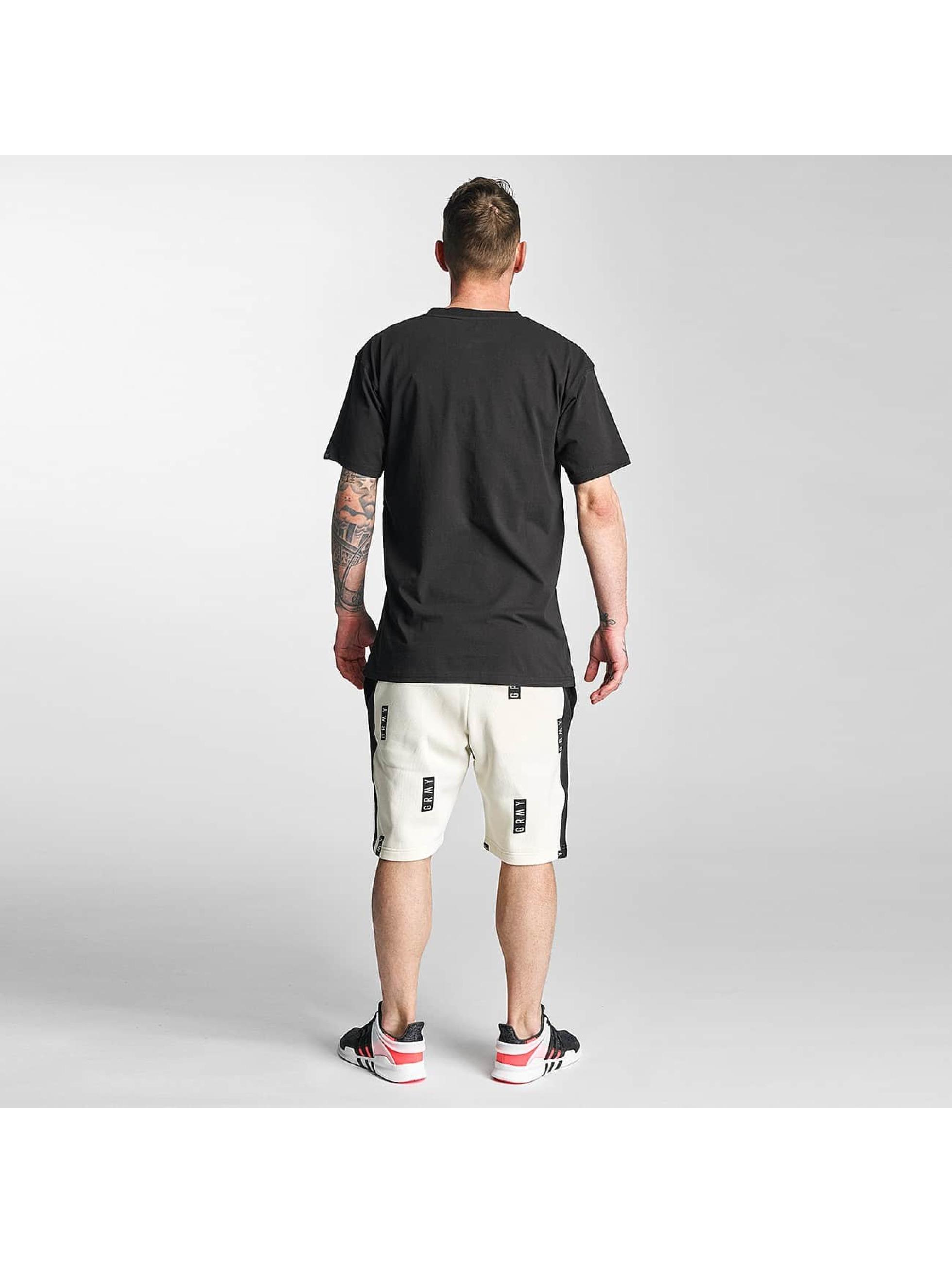Grimey Wear Männer Shorts Stick Up in weiß