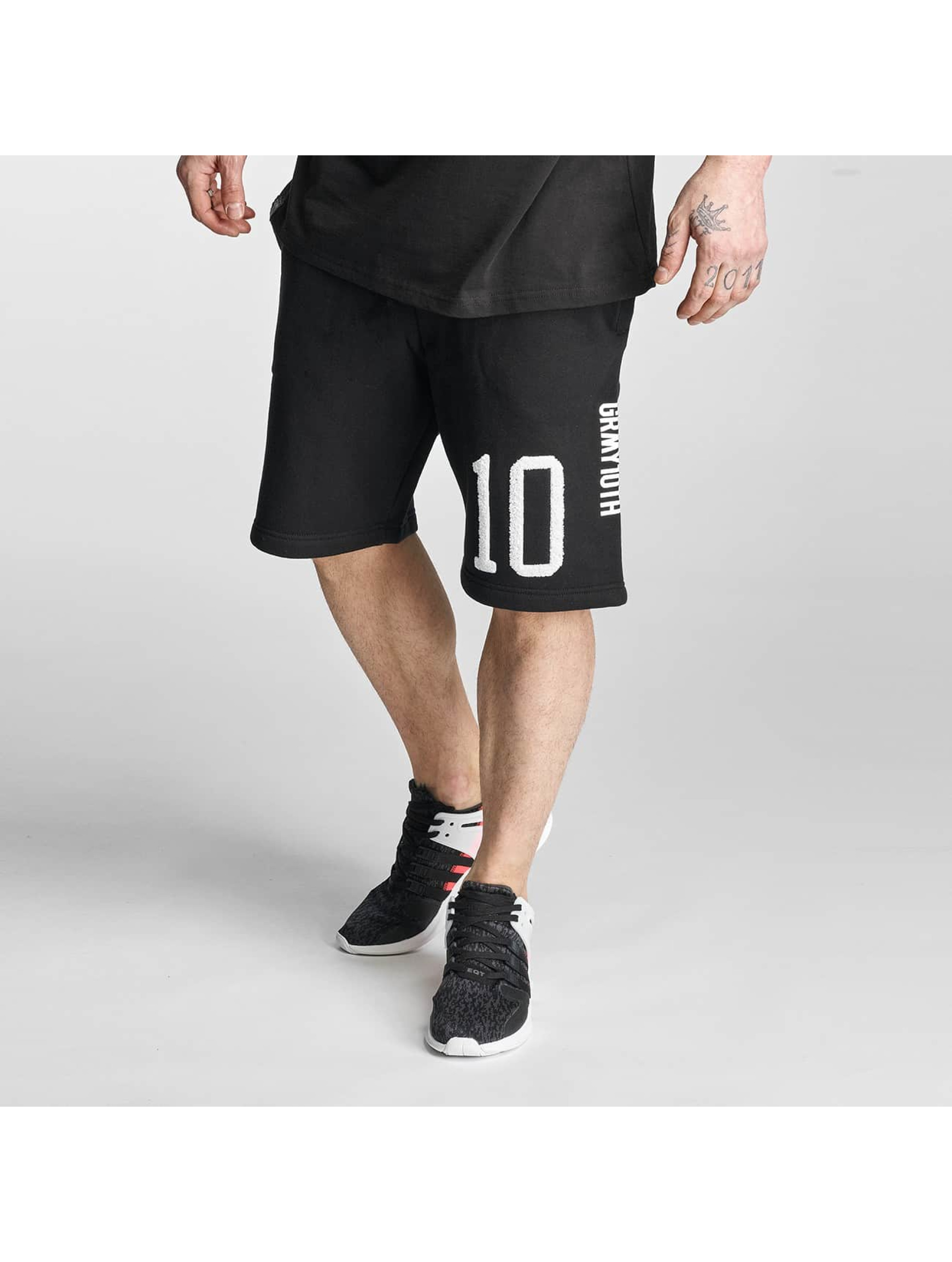 Grimey Wear Männer Shorts X Years in schwarz