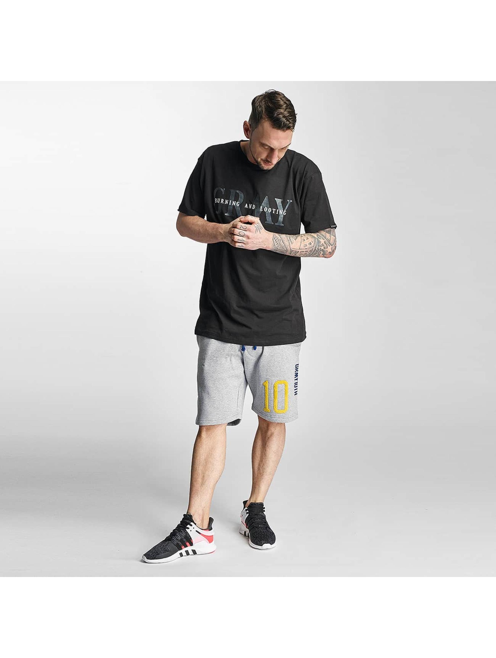 Grimey Wear Männer Shorts X Years in grau