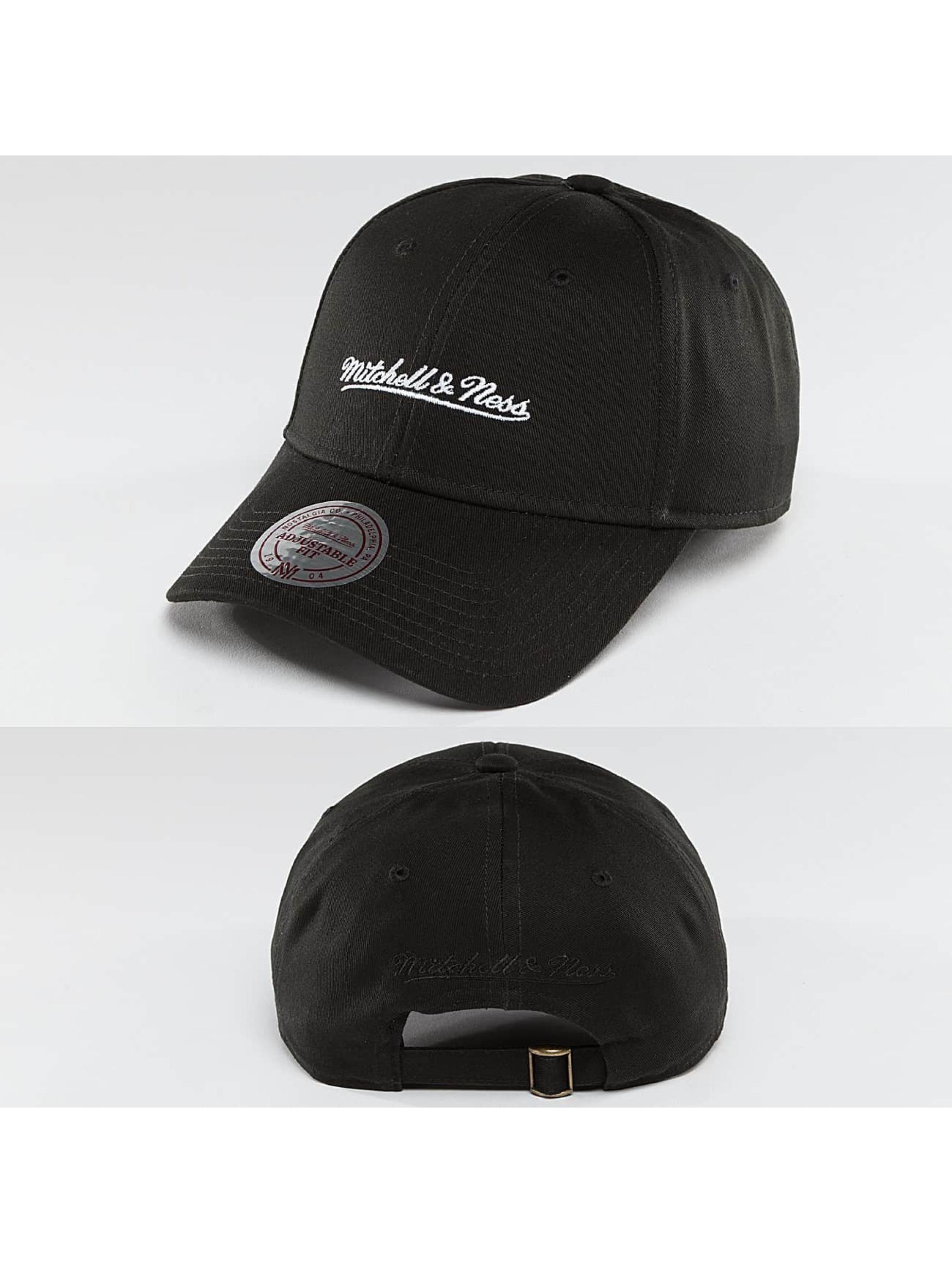 Mitchell & Ness Männer,Frauen Snapback Cap Team Logo Low Pro Strapback in schwarz
