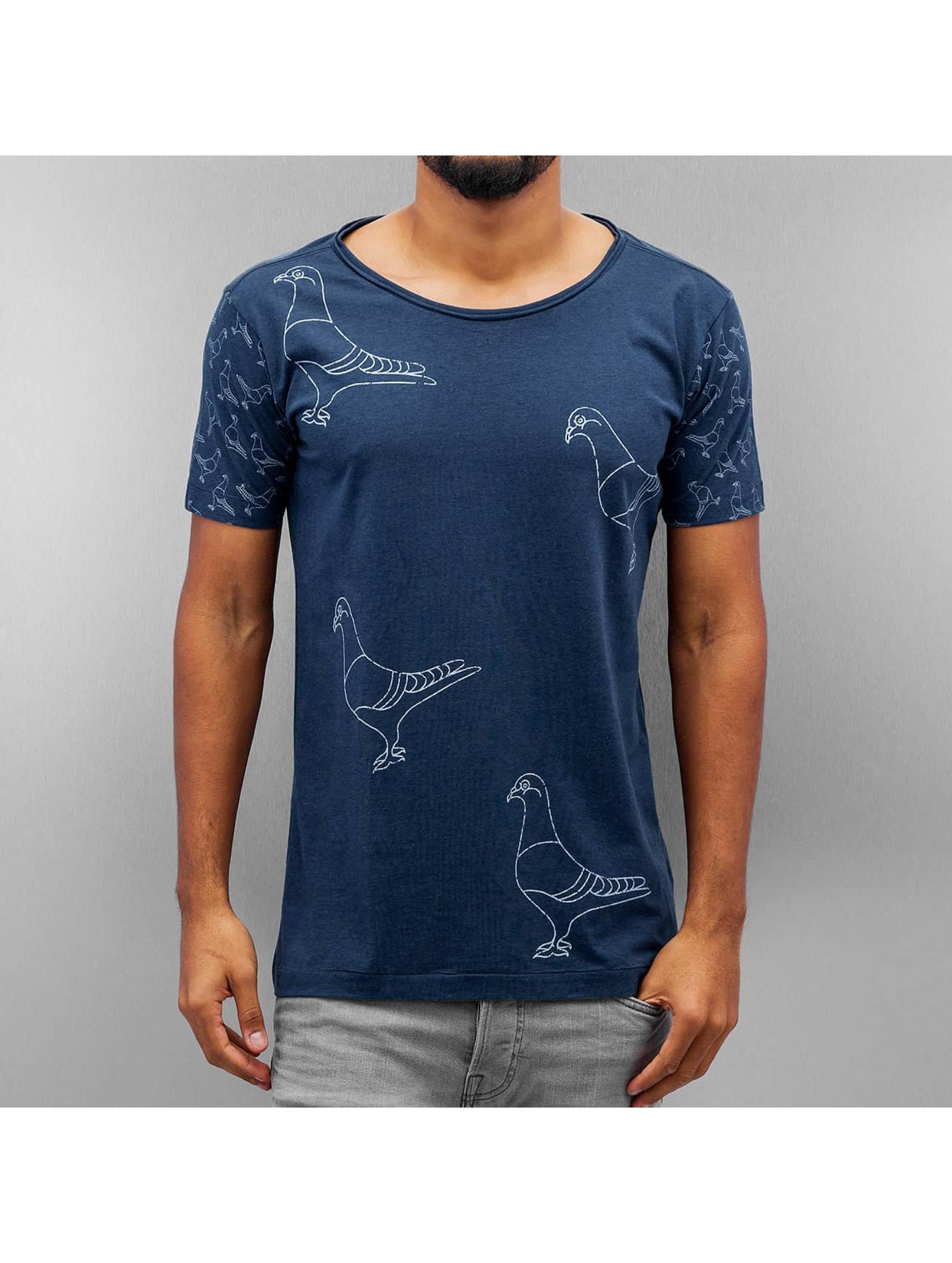 Amsterdenim Männer T-Shirt Henk in blau