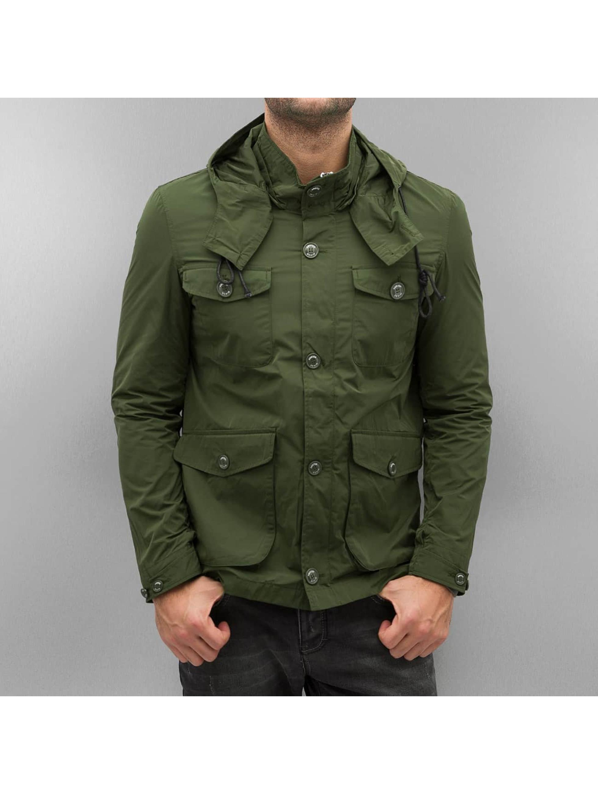 Amsterdenim Männer Übergangsjacke Sander in grün