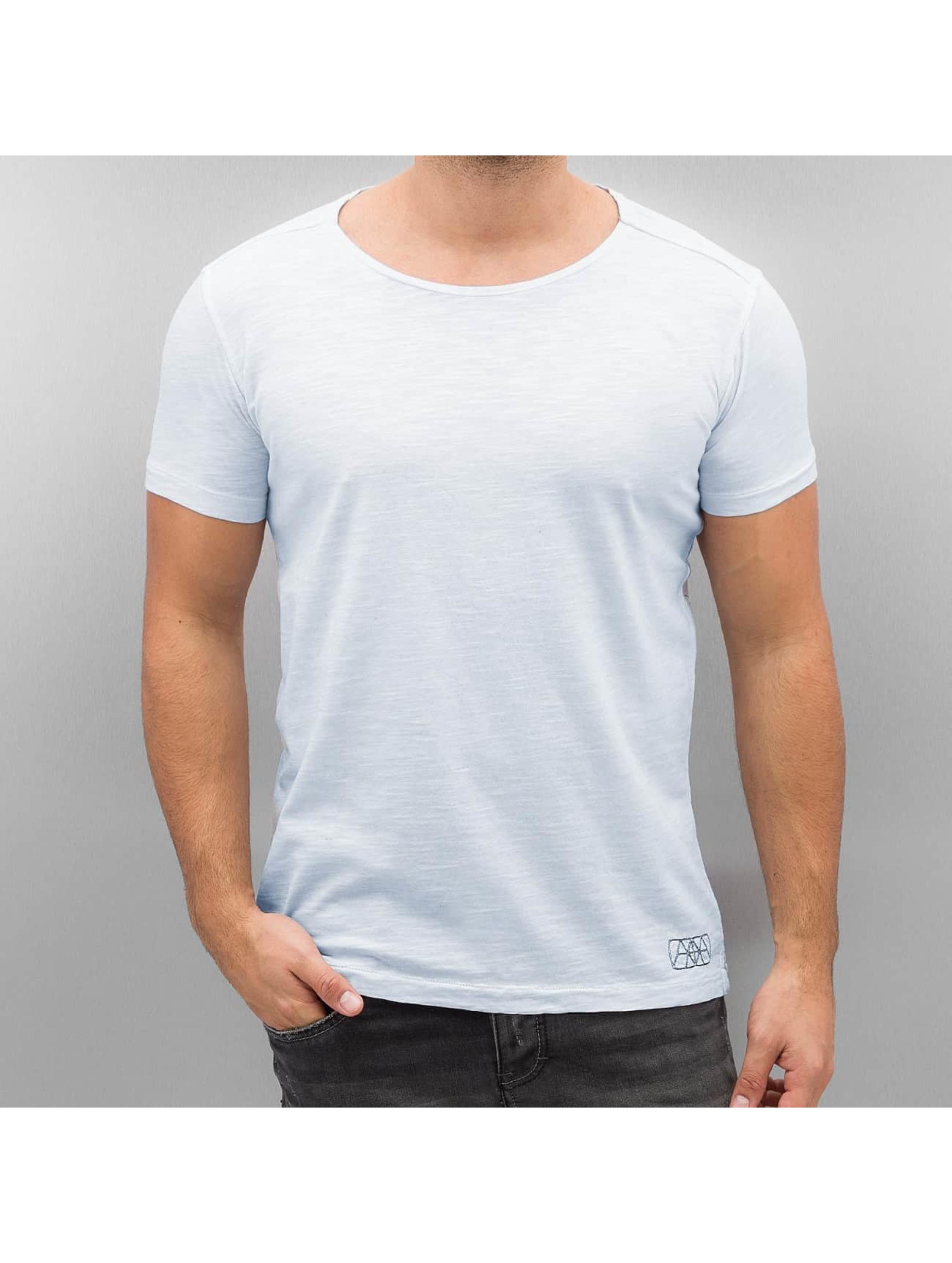 Amsterdenim Männer T-Shirt Tommy Sjaan in blau