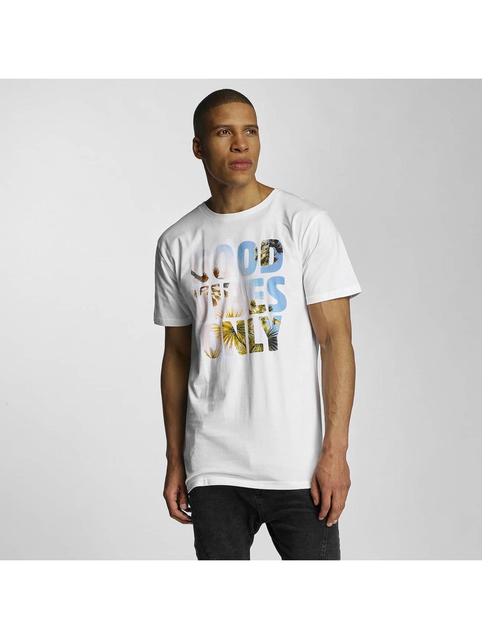 DEDICATED Männer T-Shirt GVO Palms in weiß