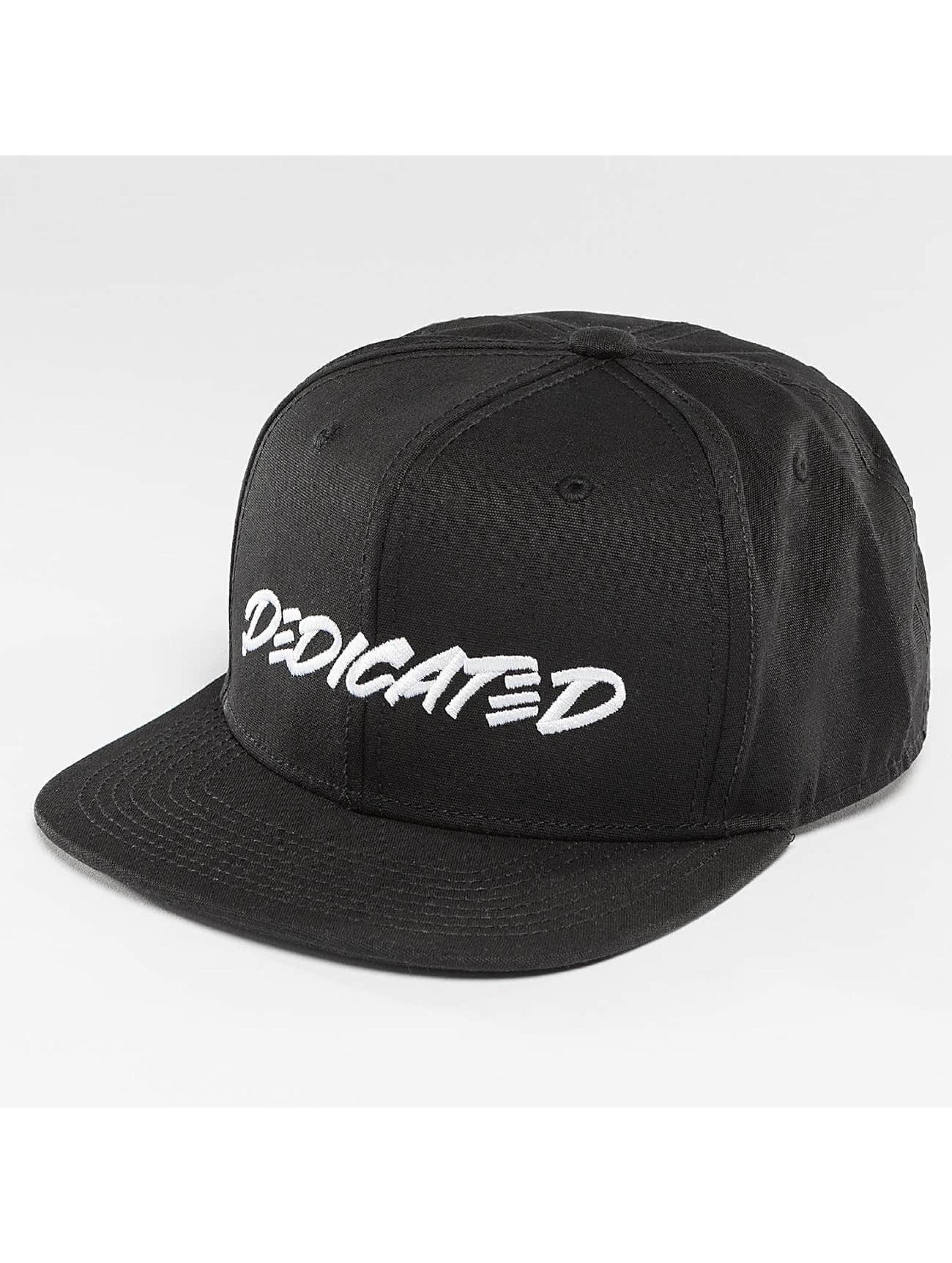 DEDICATED Männer,Frauen Snapback Cap Marker Black in schwarz