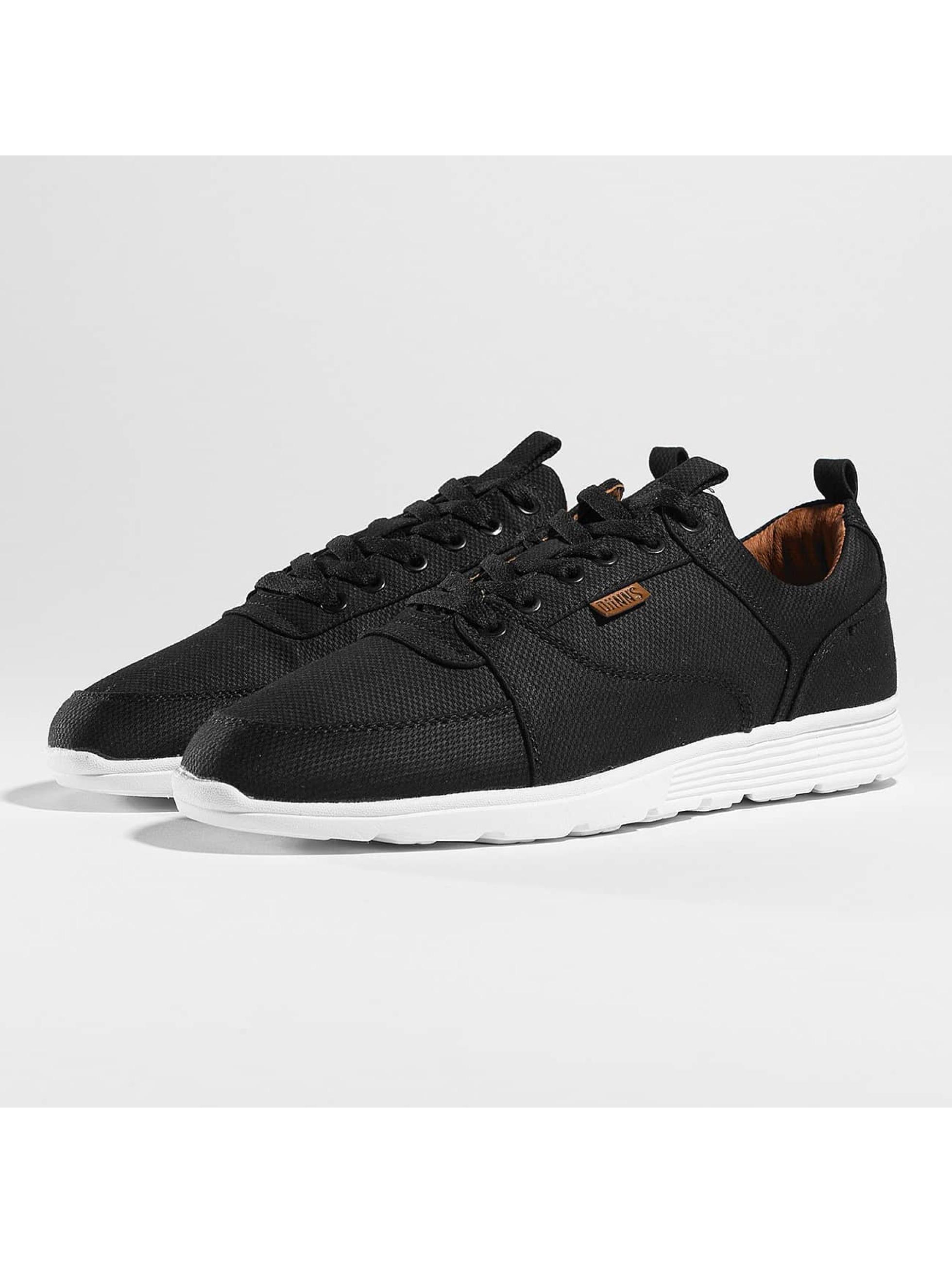 Djinns Männer Sneaker Forlow Light in schwarz