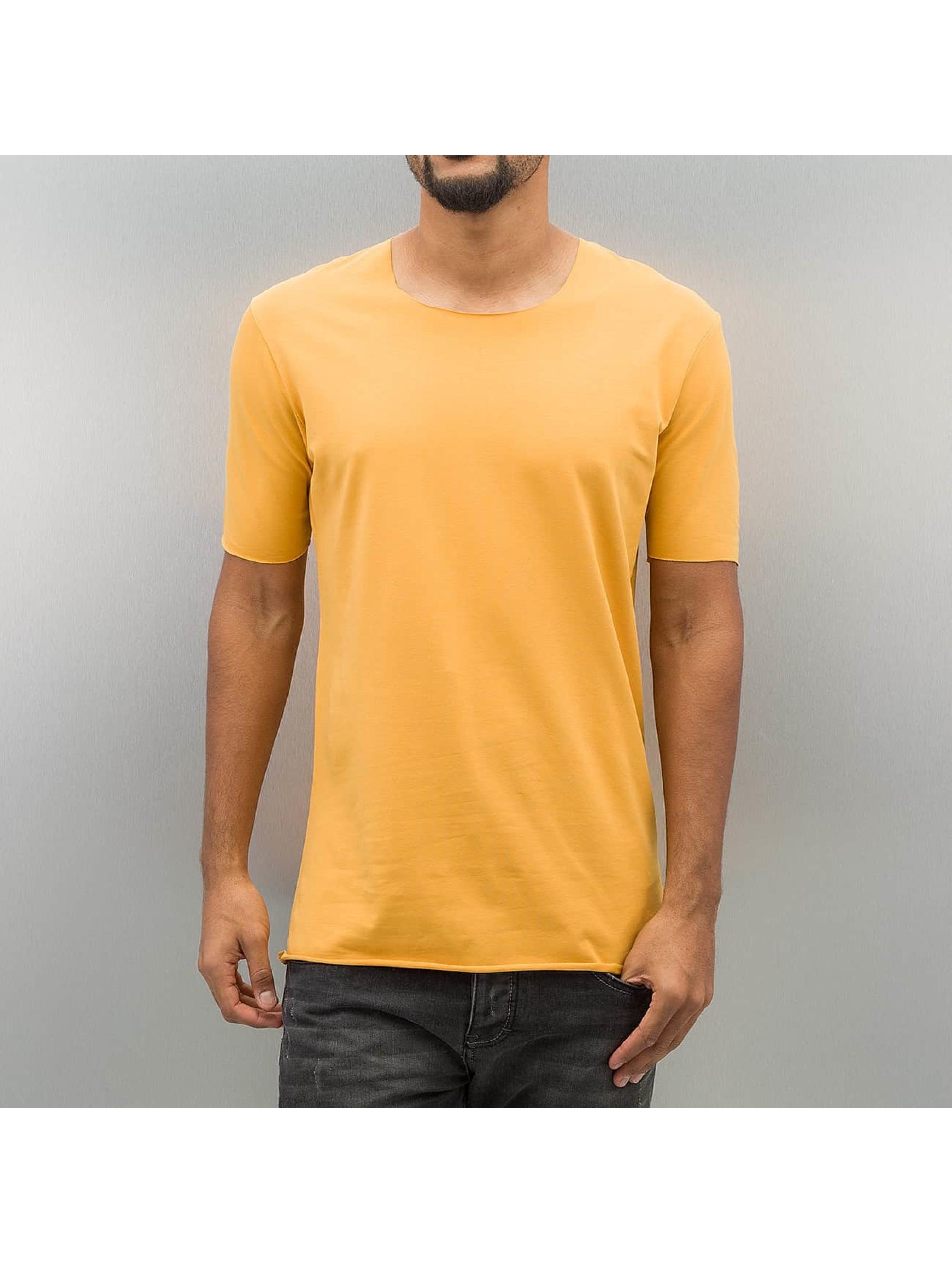 2Y Männer T-Shirt Dale in gelb