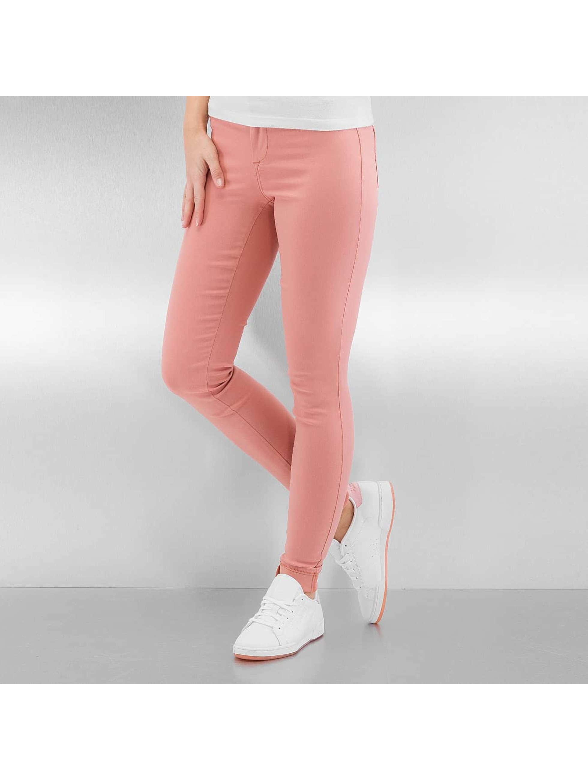 Pieces Frauen Legging pcSkin Wear in rosa