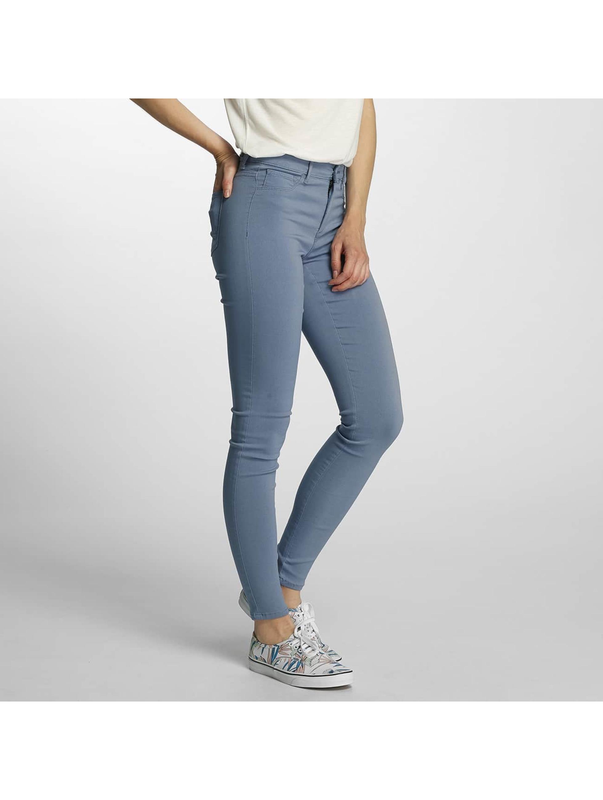 Pieces Frauen Legging pcSkin Wear in blau