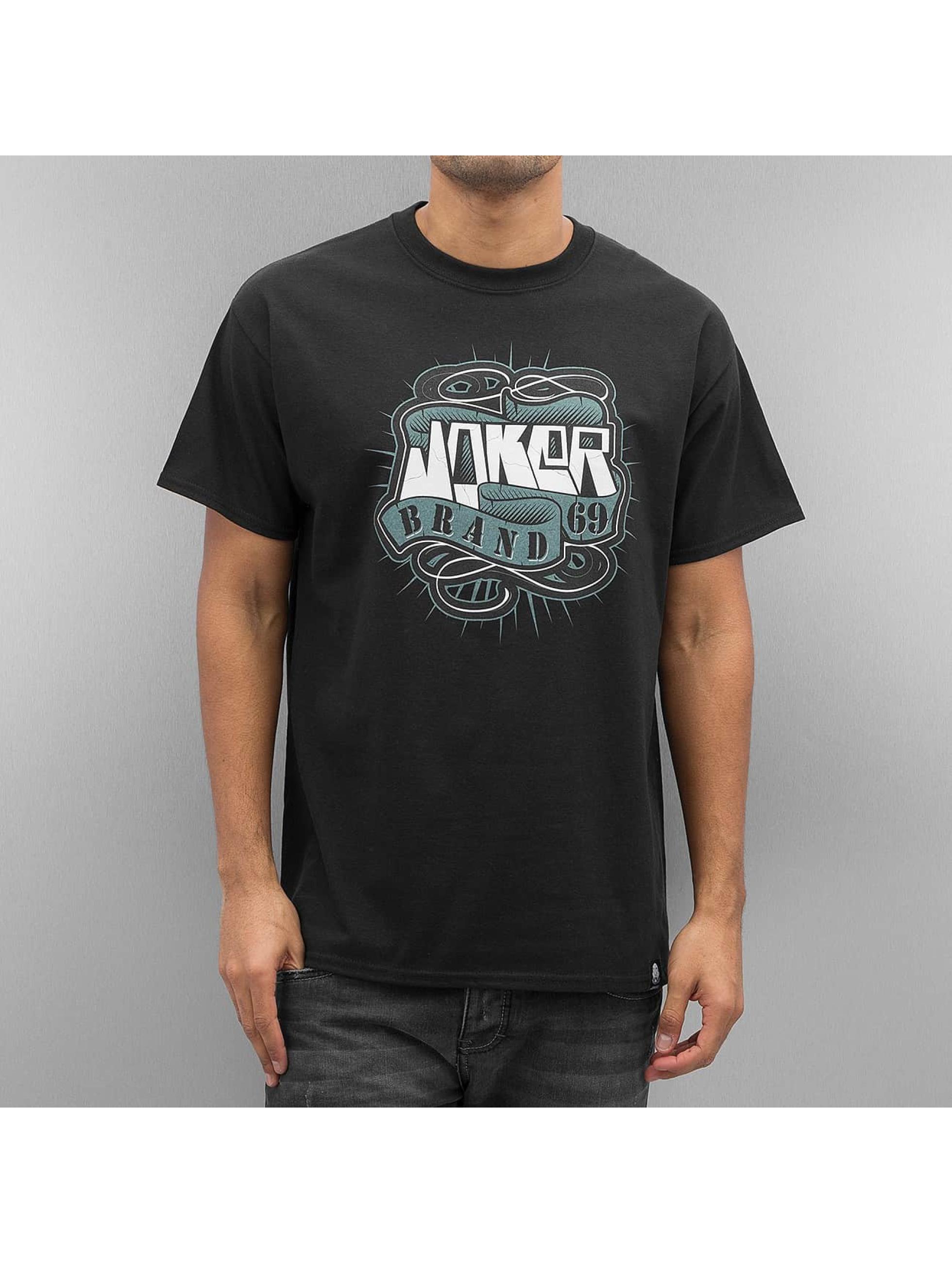 Joker Männer T-Shirt 69 Brand in schwarz