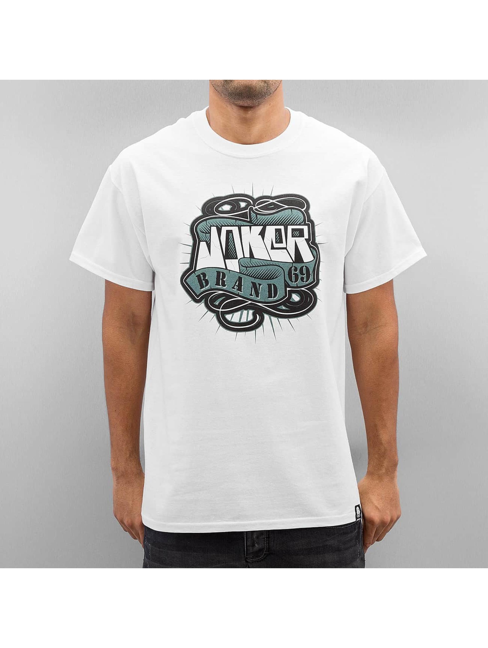 Joker Männer T-Shirt 69 Brand in weiß