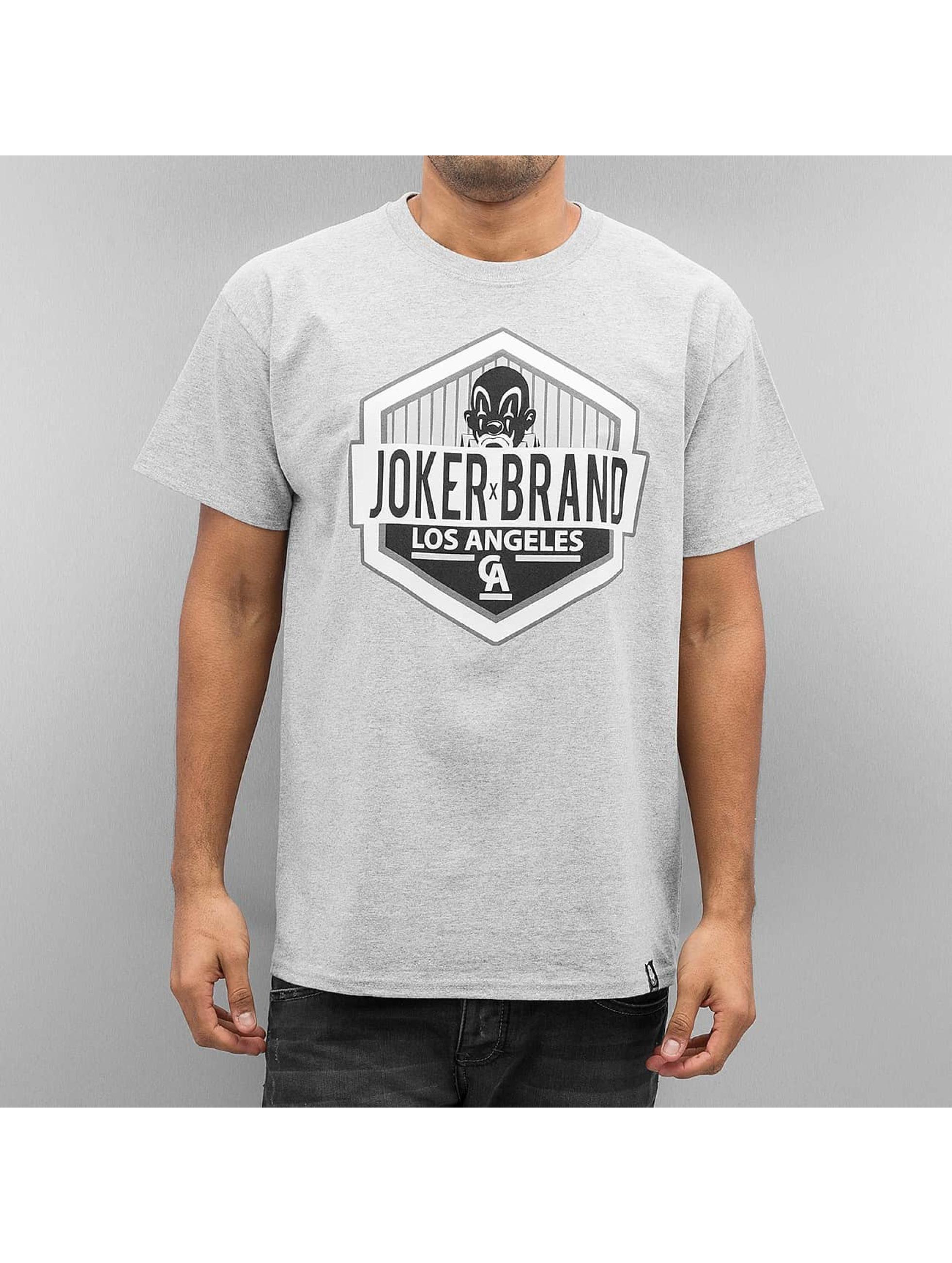 Joker Männer T-Shirt LA CA in grau