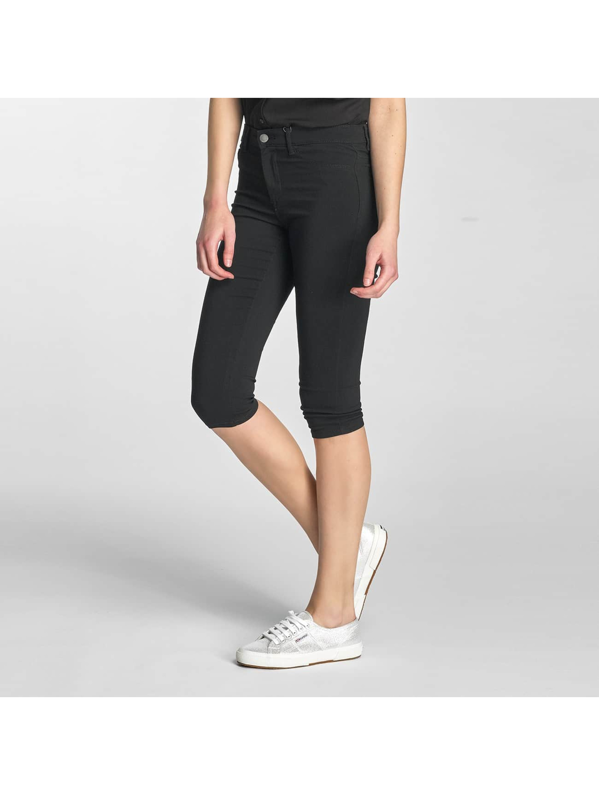 Pieces Frauen Legging PCSkin Wear in schwarz