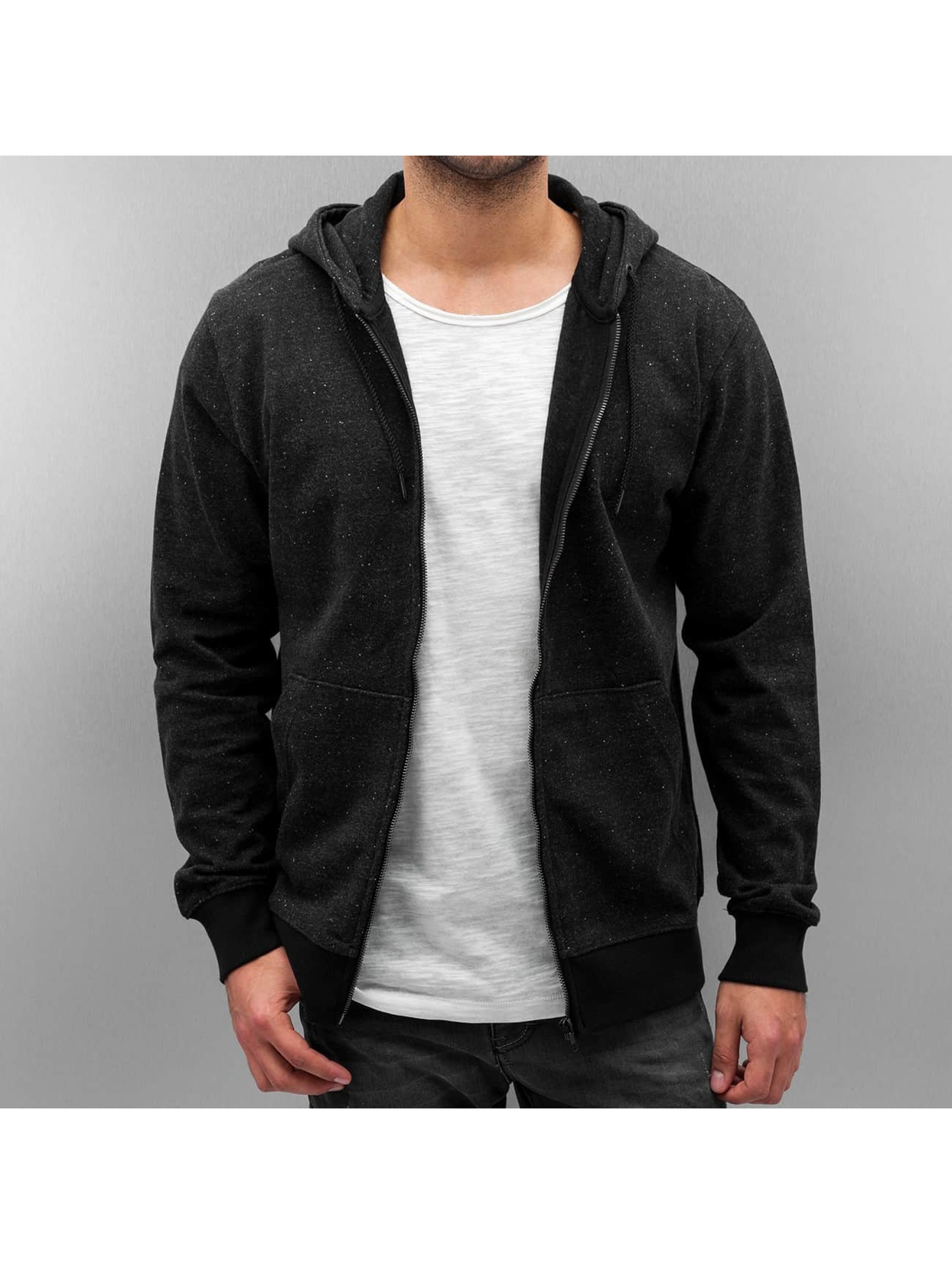 Only & Sons Männer Zip Hoodie onsFiske in grau