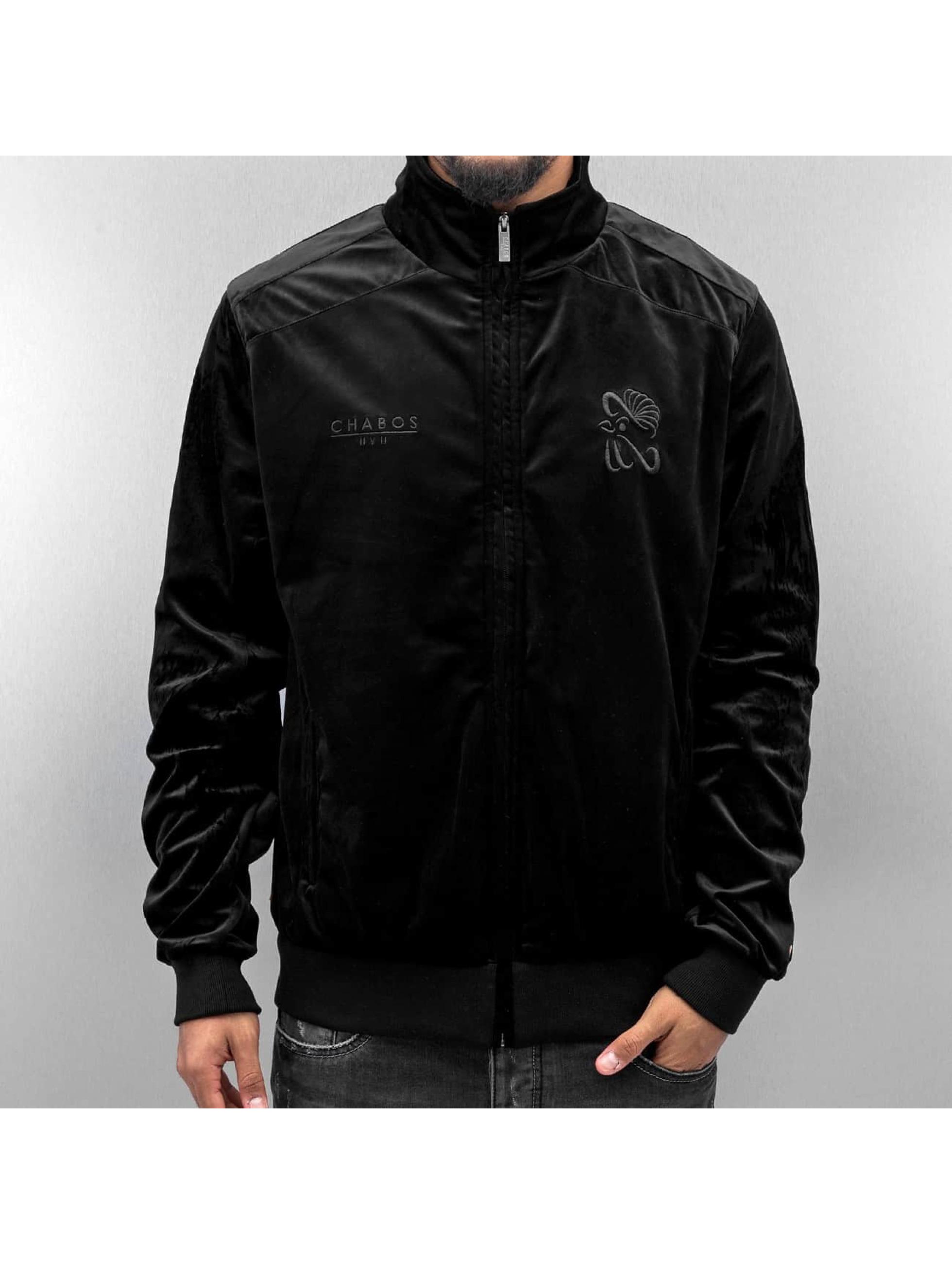 CHABOS IIVII Lightweight Jacket Core Velour Samt black