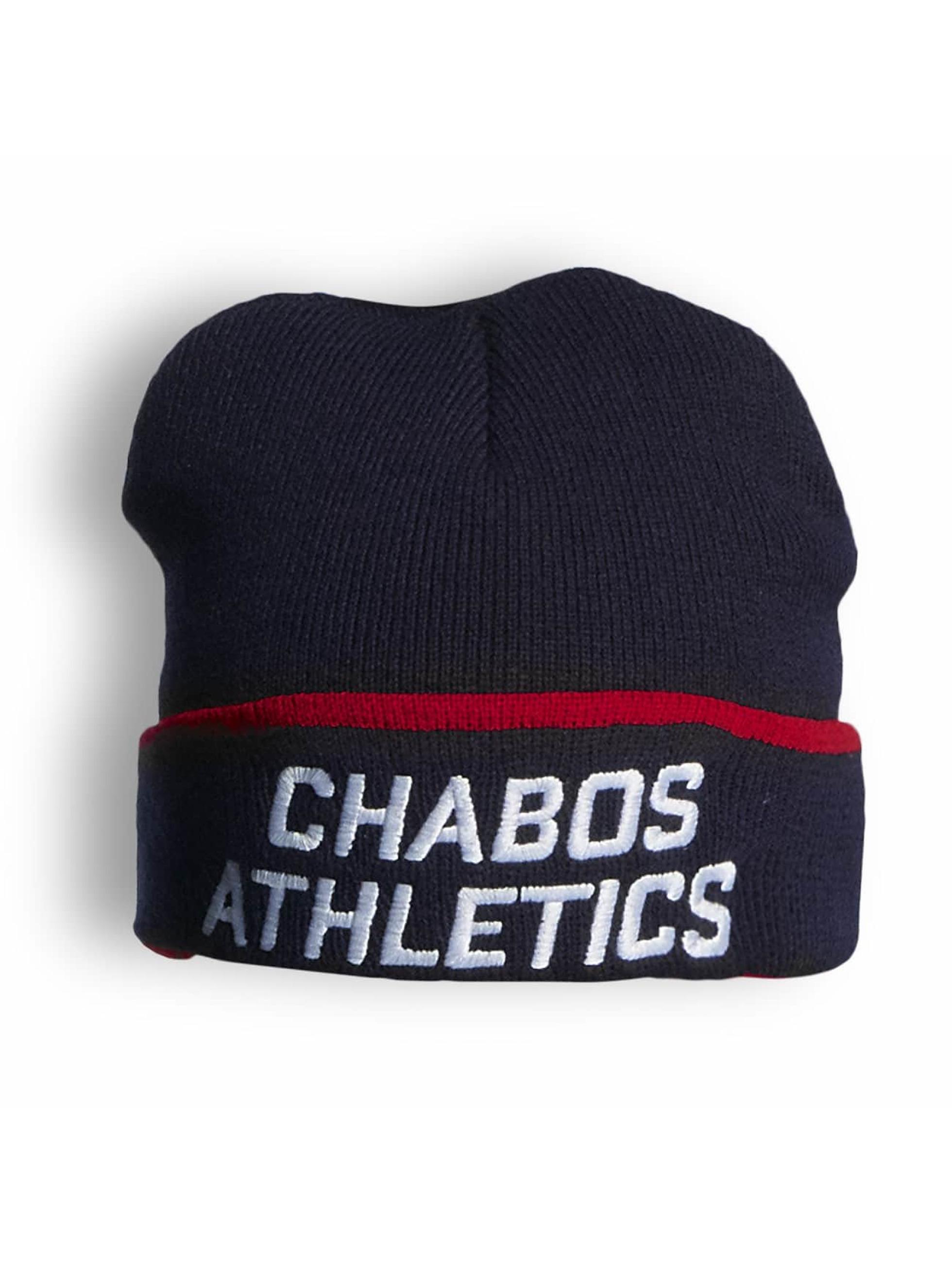 CHABOS IIVII Männer,Frauen Beanie Athletics in blau